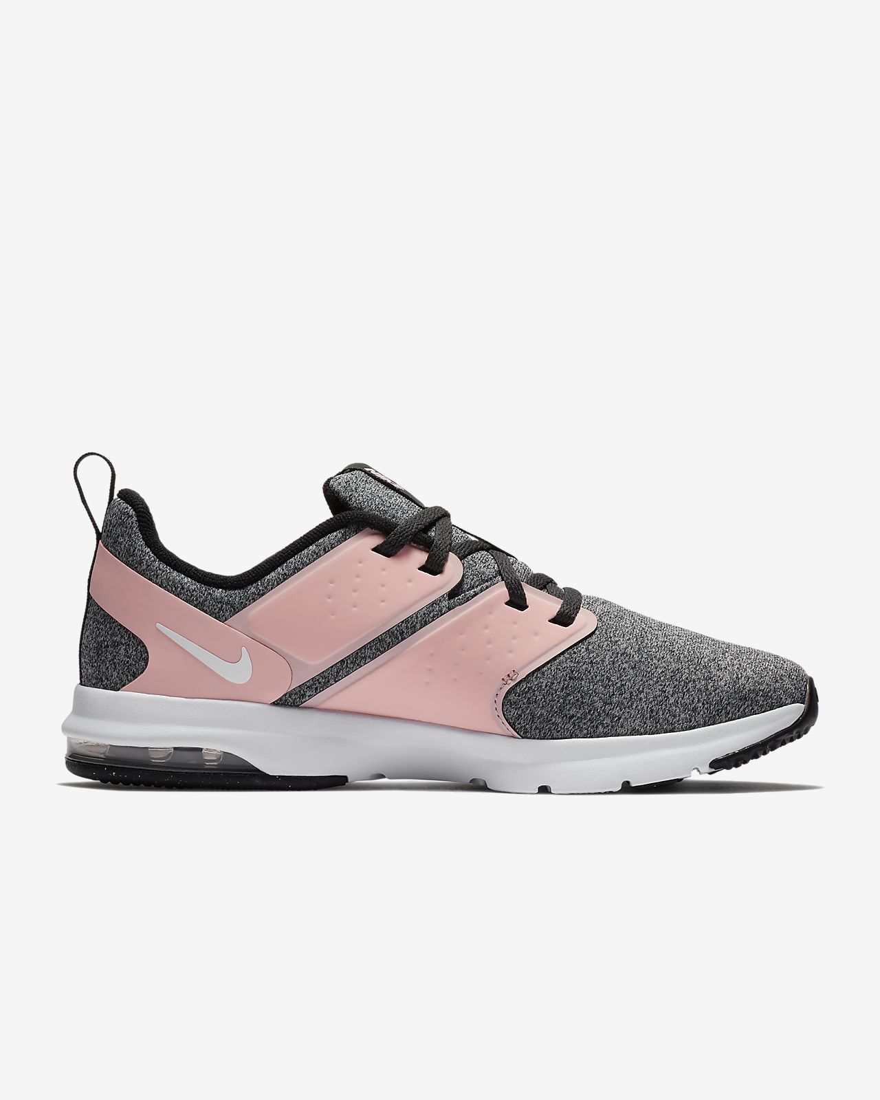 Nike Performance AIR BELLA TR - Sports shoes - cool grey/storm pink/pure platinum Nxbng