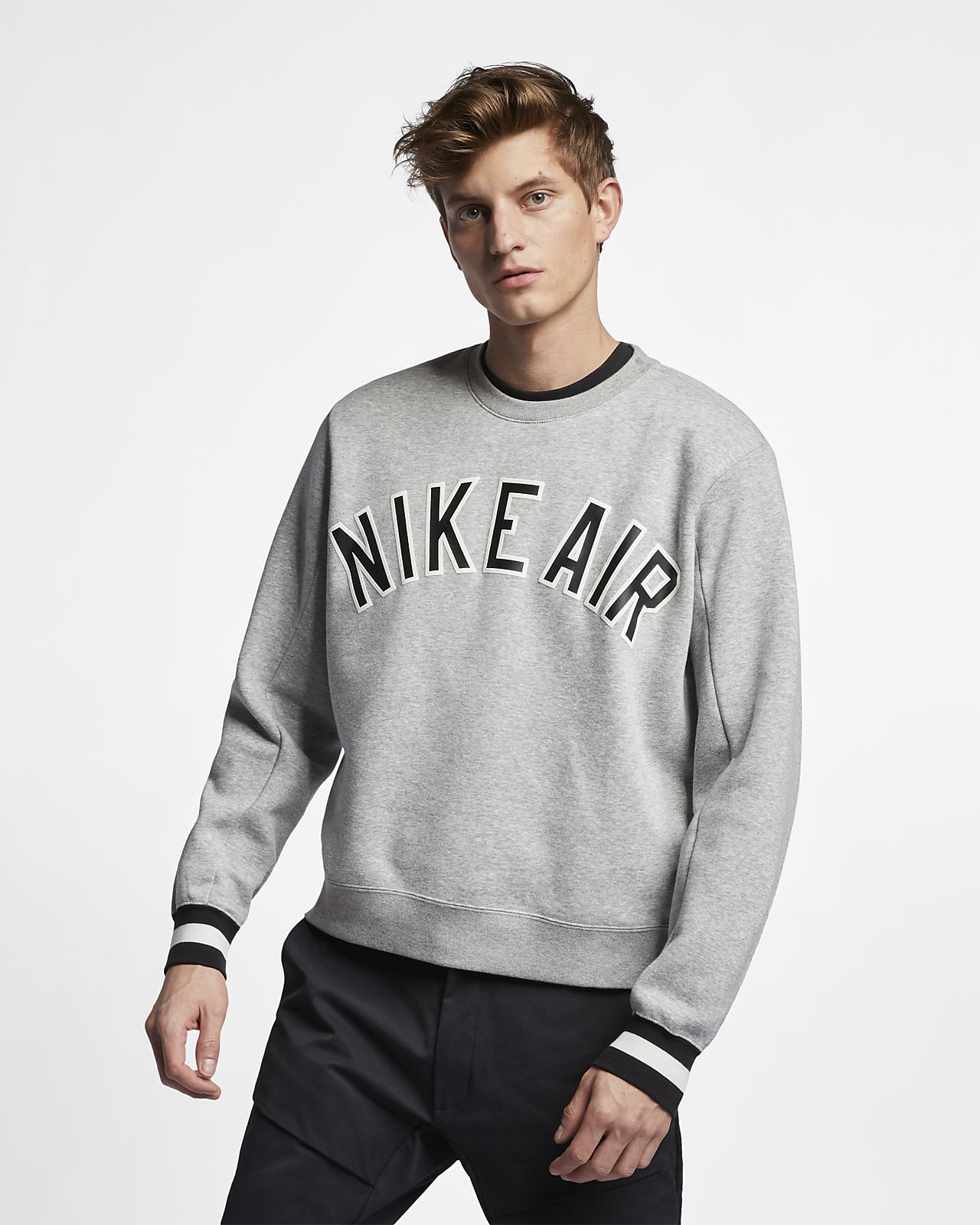 b1b36045a Nike Air Men's Fleece Crew. Nike.com VN