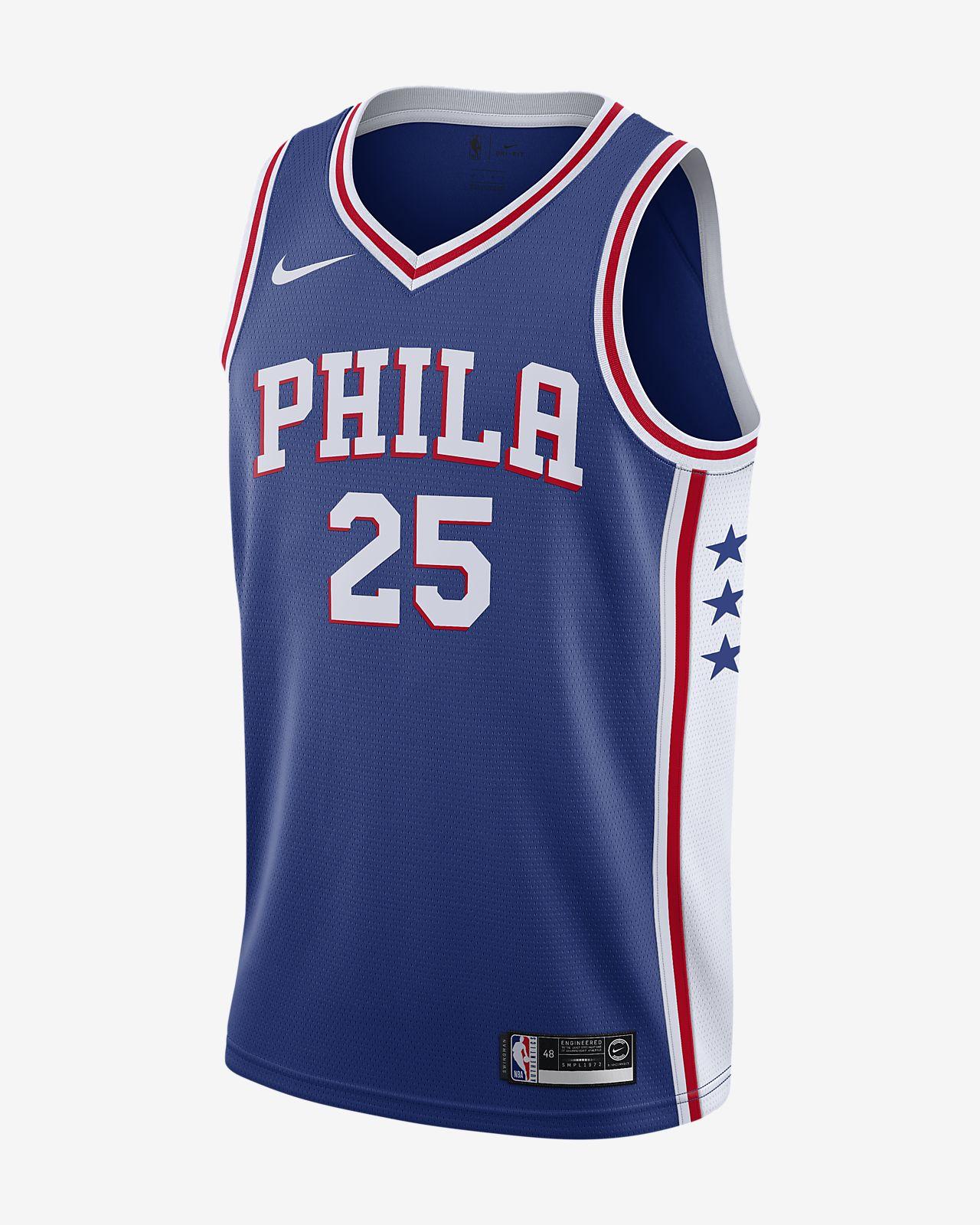 Ben Simmons Icon Edition Swingman (Philadelphia 76ers) Camiseta Nike NBA Connected - Hombre