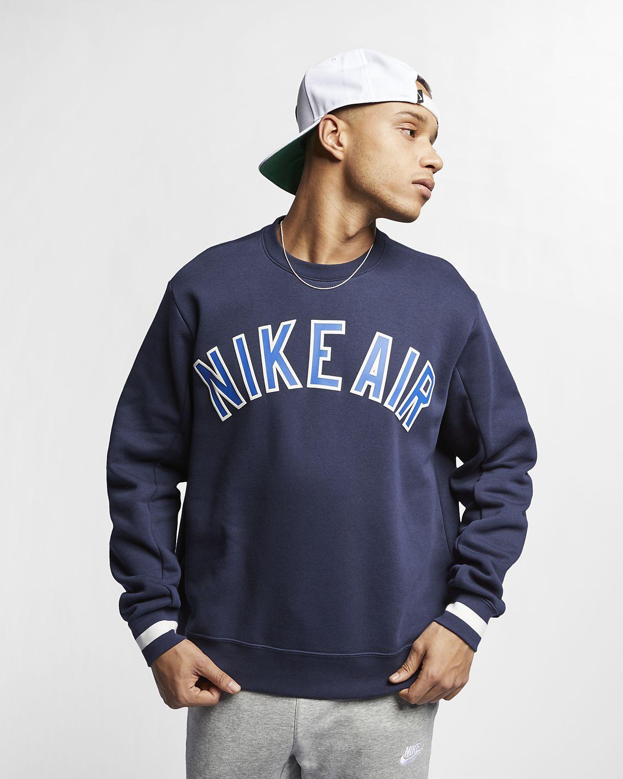 Nike Air 男子起绒圆领上衣