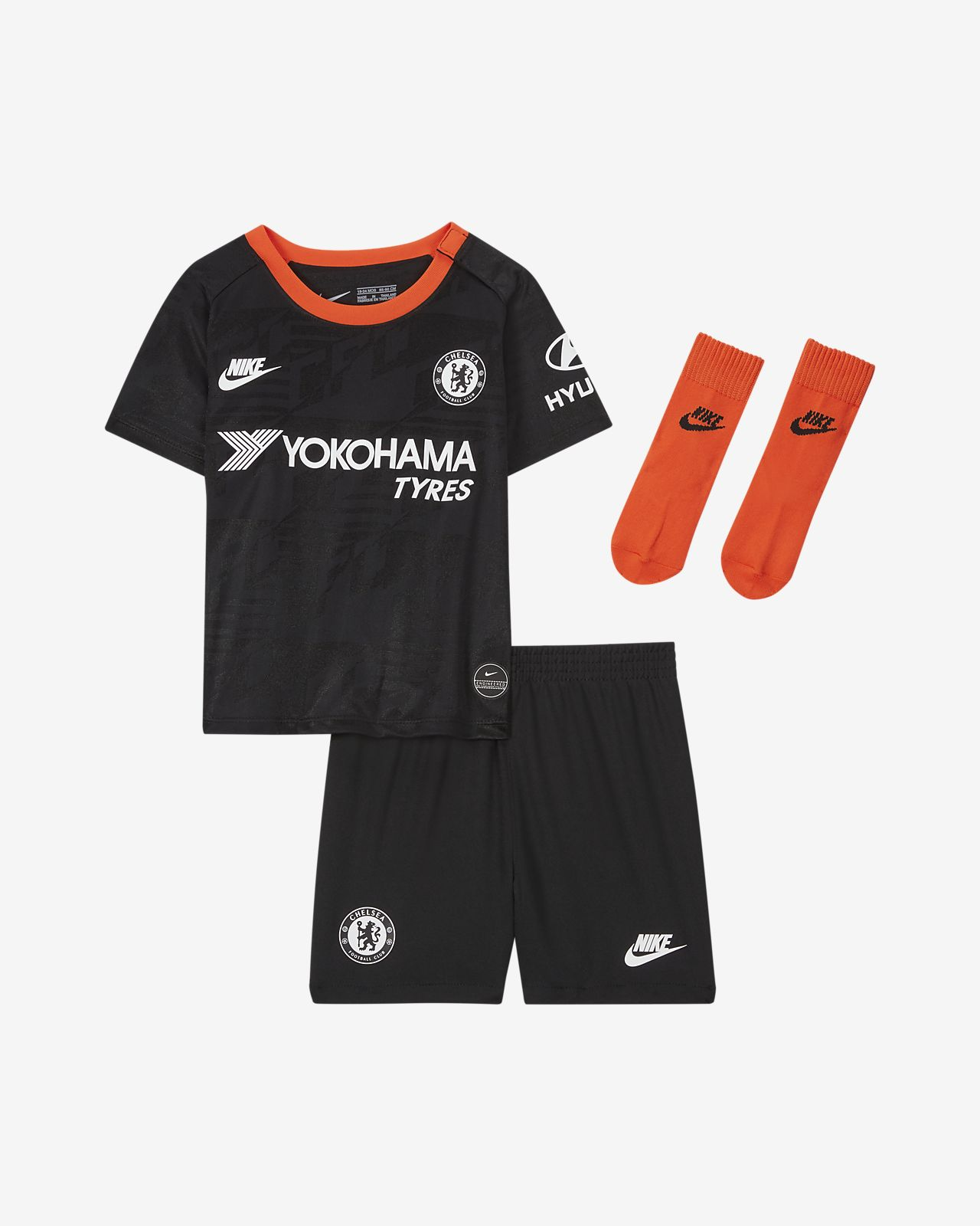 Kit alternativo para bebé e infantil del Chelsea FC 2019/20