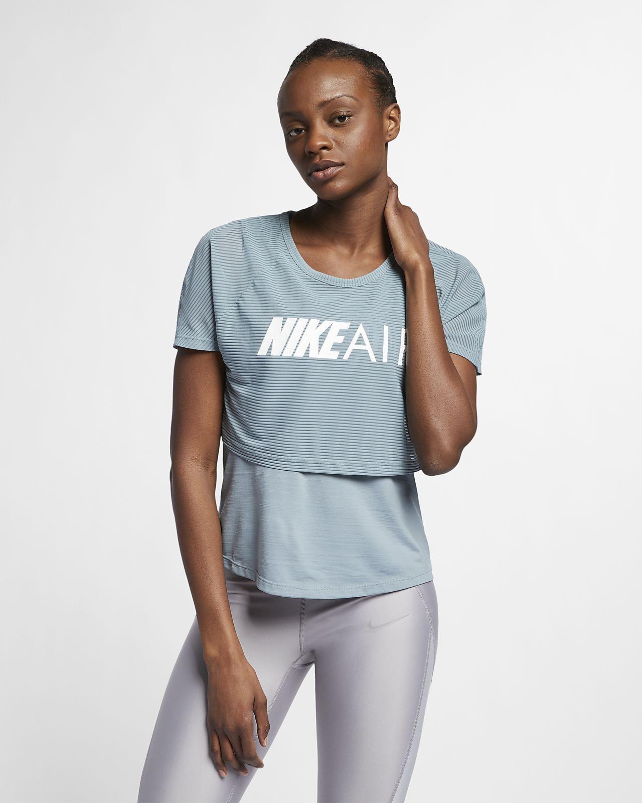 Nike Air Samarreta estampada de running - Dona
