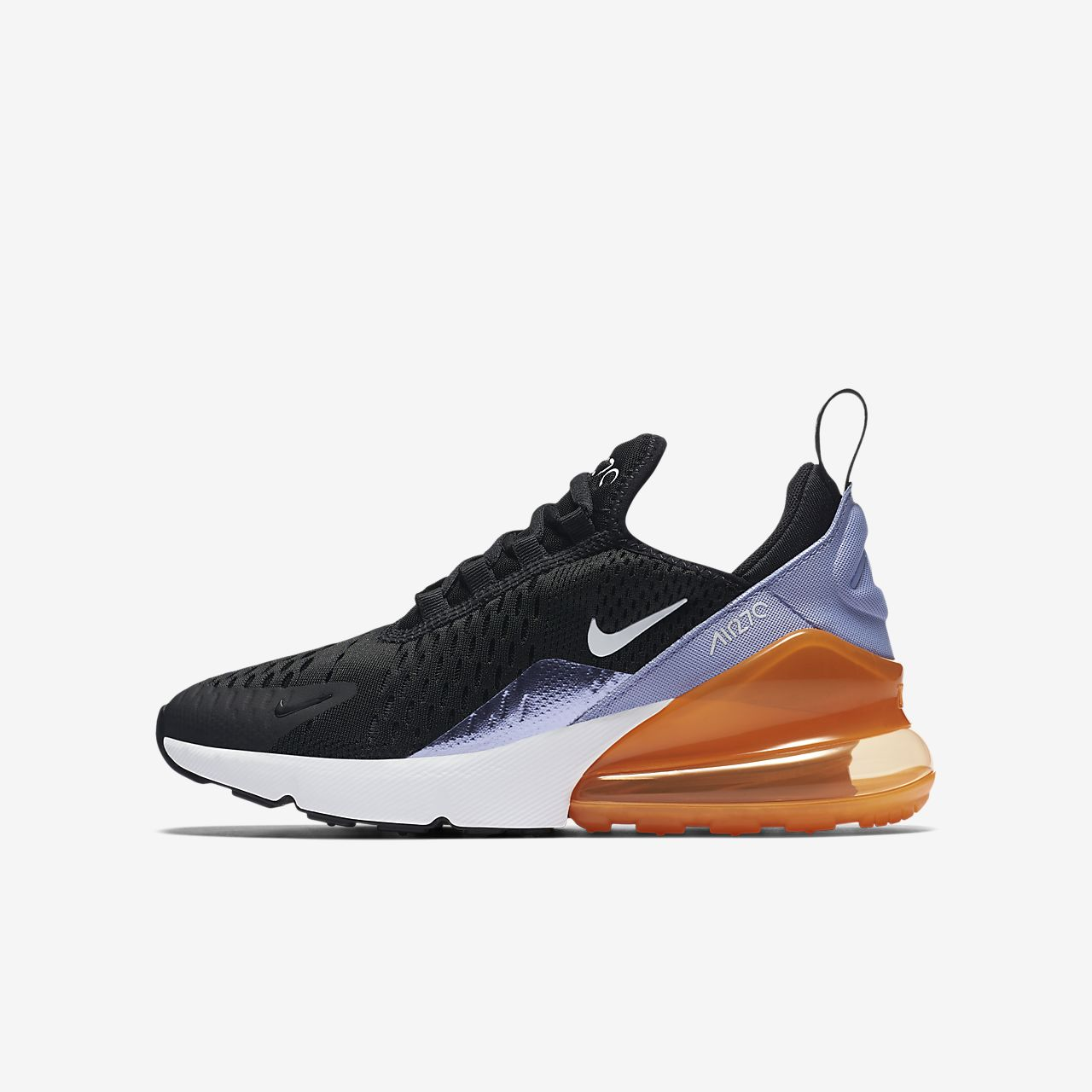 basket enfant nike air max 270