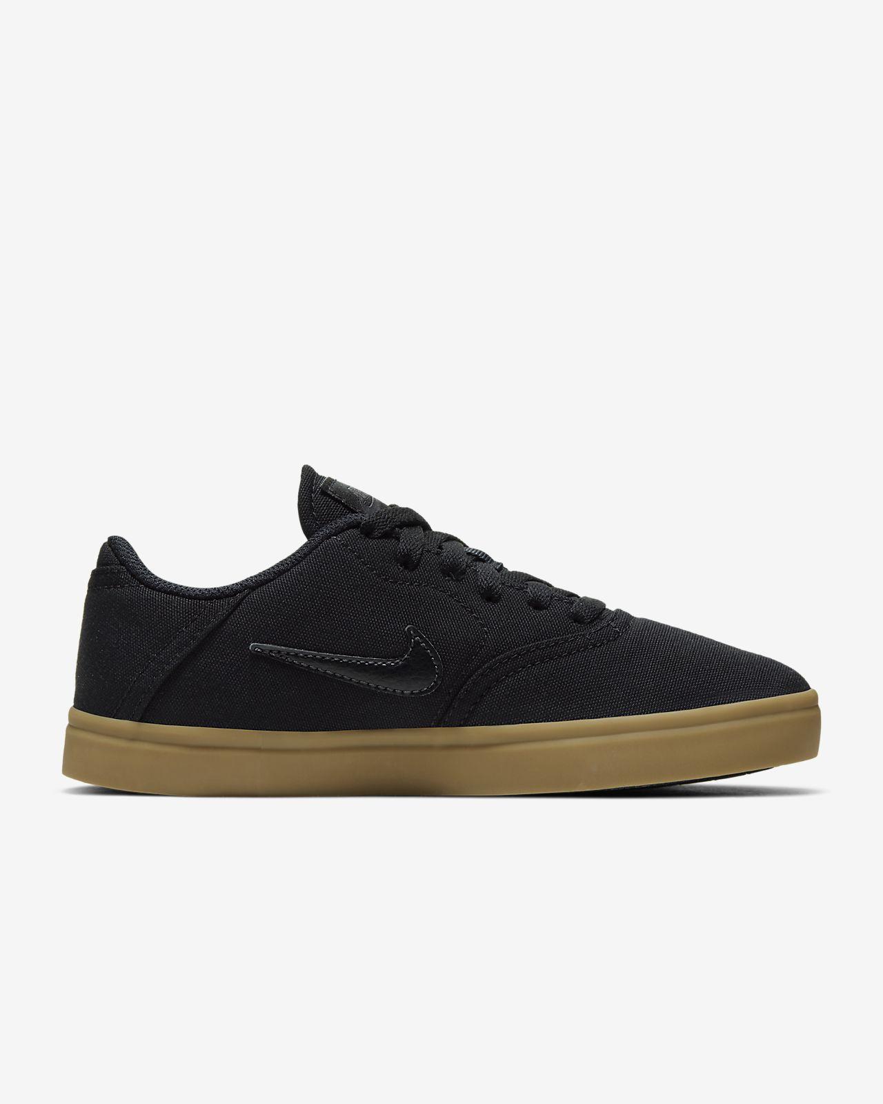 Nike SB Check Canvas Big Kids' Skateboarding Shoe