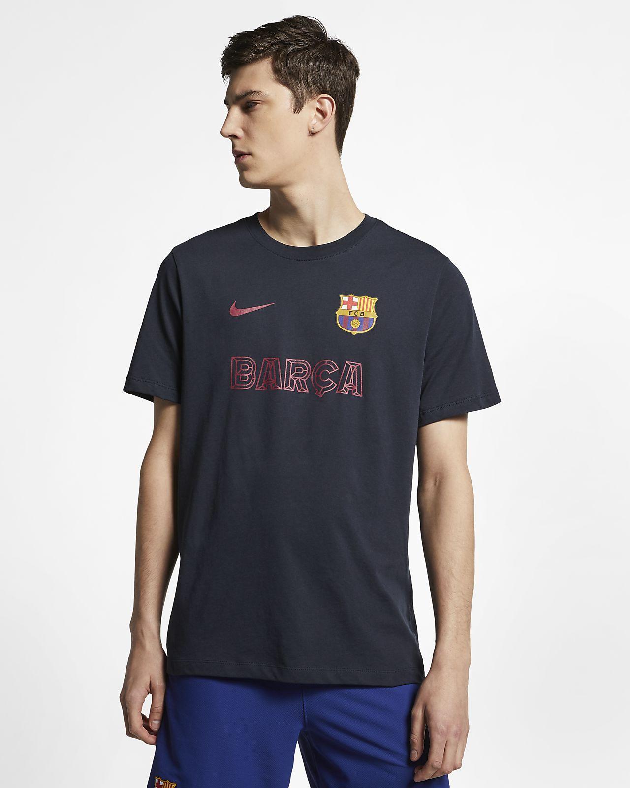 T-shirt Nike FC Barcelona para homem