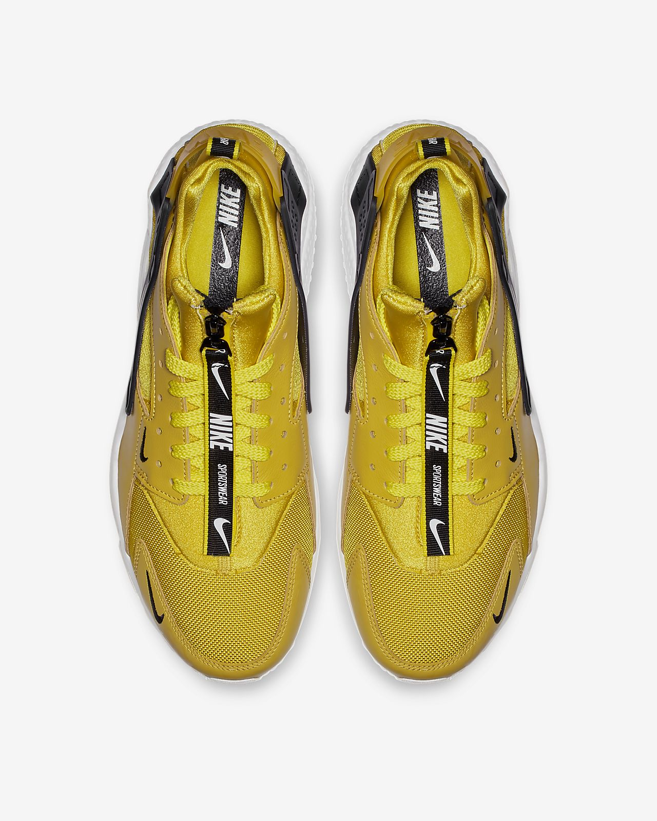 brand new 162e1 96efc ... Nike Air Huarache Run Premium Zip Men s Shoe