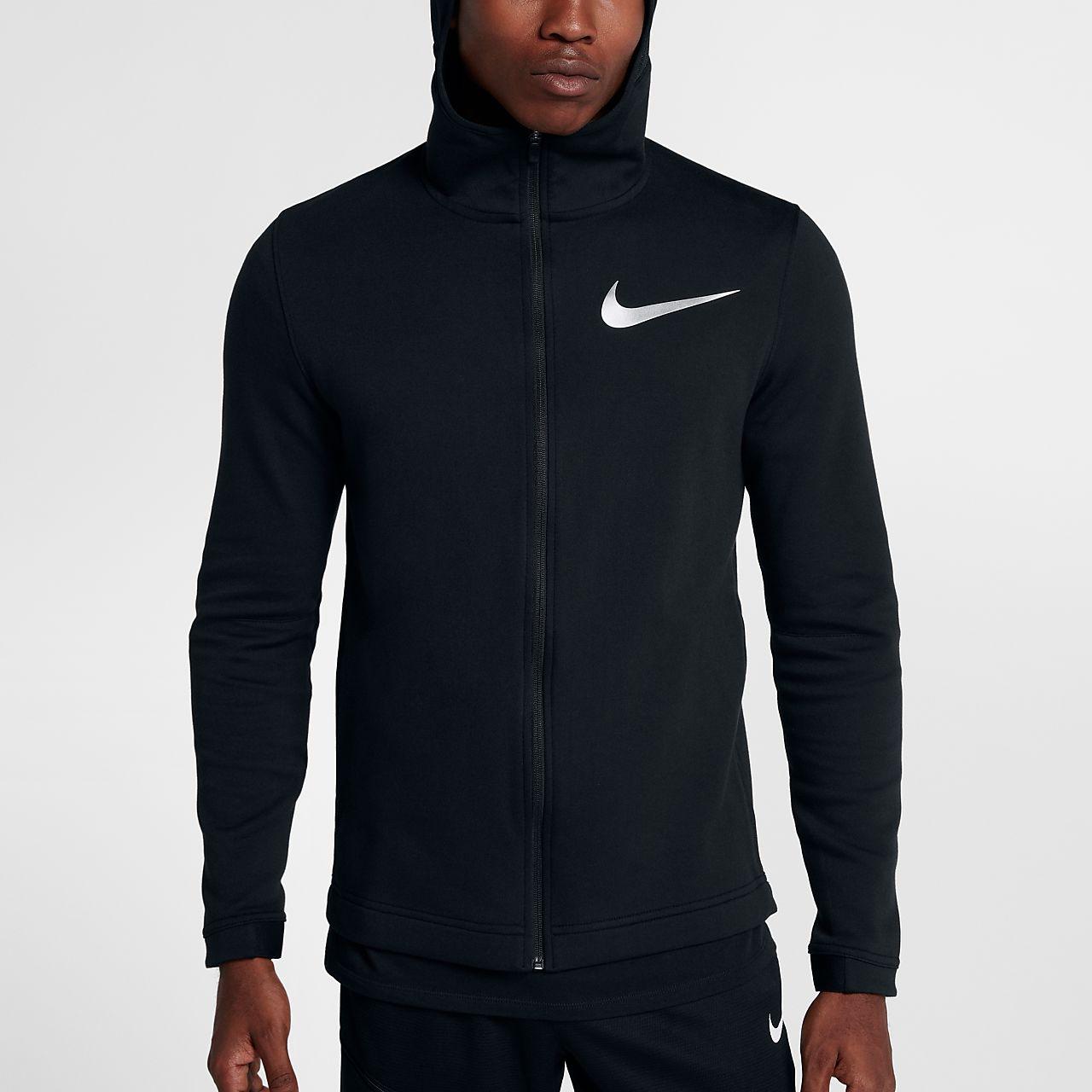 ... Nike Dry Hyper Elite Showtime Men's Full-Zip Basketball Hoodie