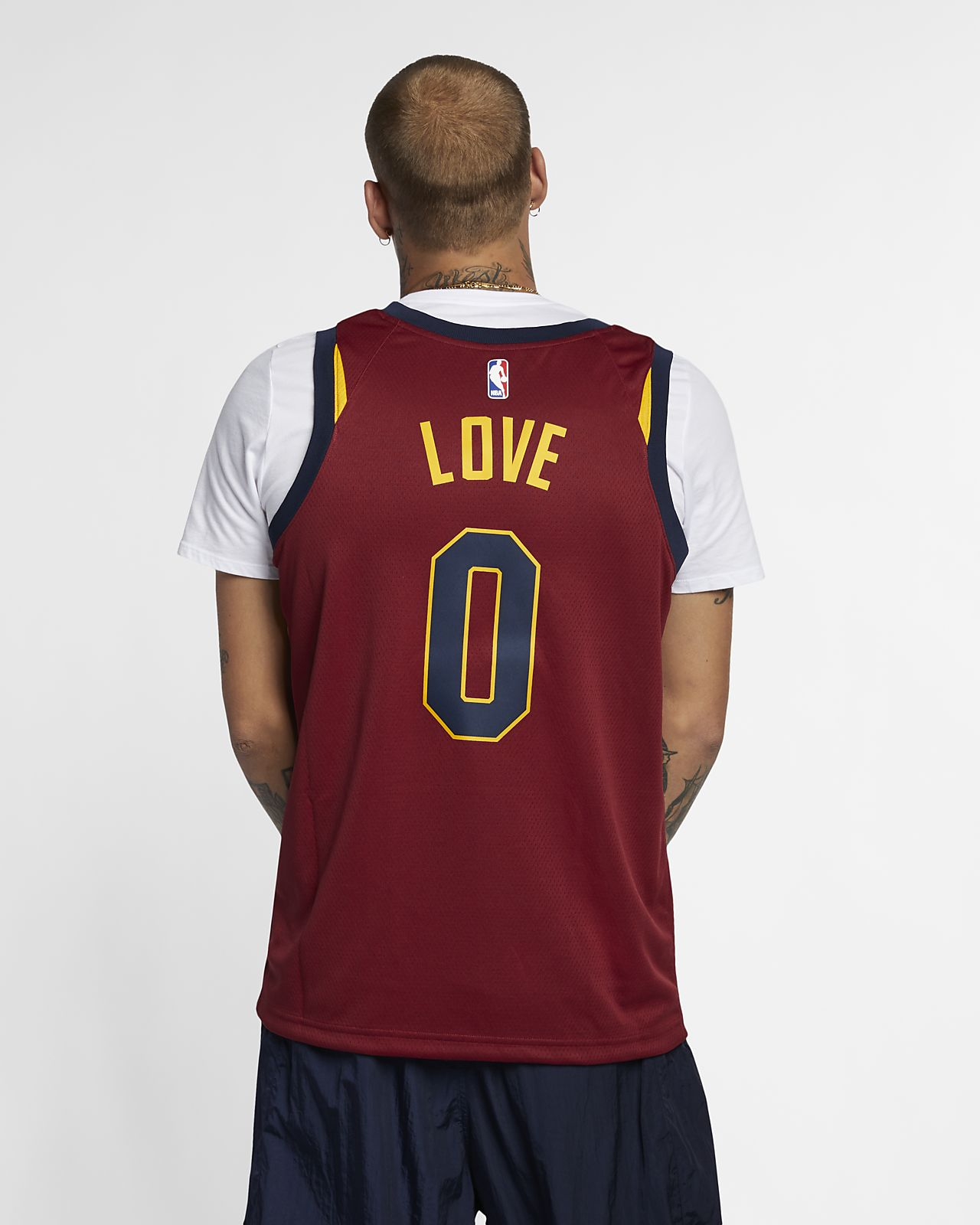 new york 73896 3d01e Kevin Love Icon Edition Swingman Jersey (Cleveland Cavaliers) Men's Nike  NBA Connected Jersey