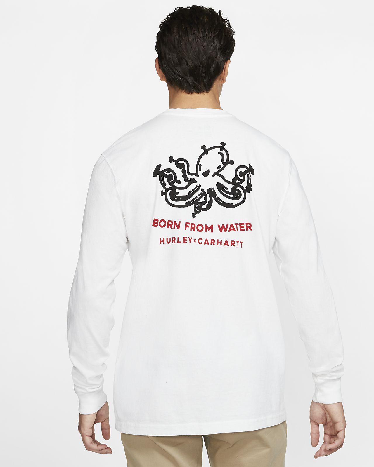 Hurley x Carhartt Outwork Men's Long-Sleeve T-Shirt