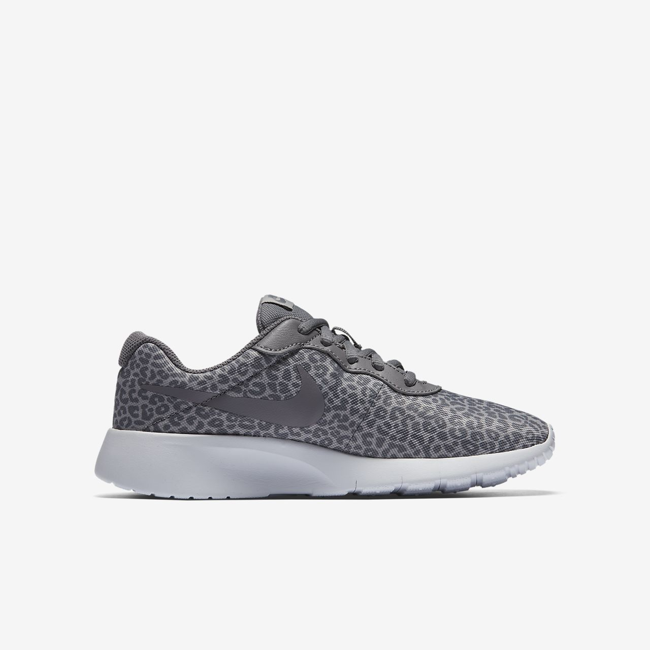 Nike Tanjun Print Boys Lifestyle Shoes White kI8584V