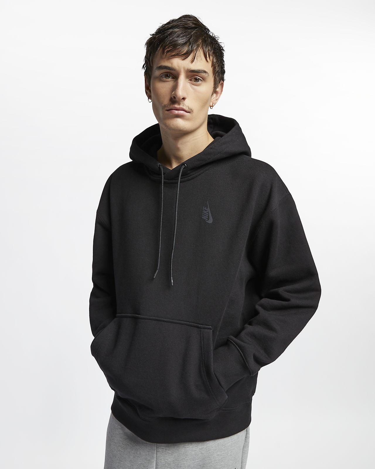 เสื้อมีฮู้ดผ้าฟลีซผู้ชายแบบสวม NikeLab Collection