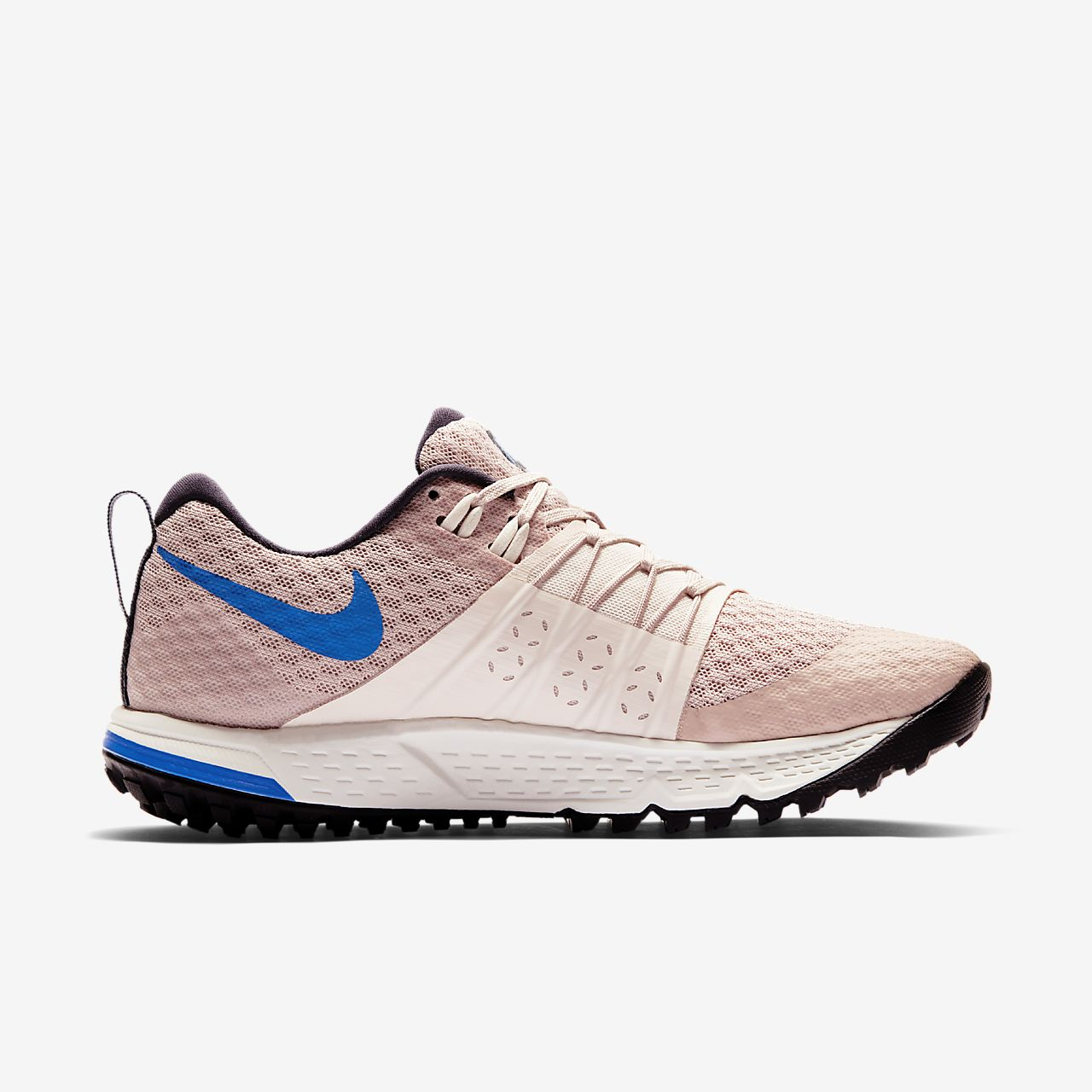 Nike Performance AIR ZOOM WILDHORSE 4 - Trail running shoes - particle beige/guava ice/summit white/signal blue 20Gc0PdN