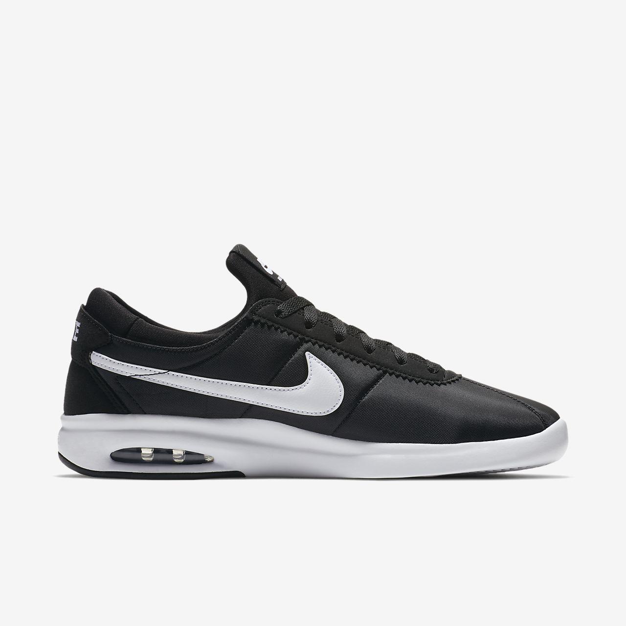 Nike SB Air Max Bruin Vapor Men's Skateboarding Shoes Black/White/Grey vR1432T