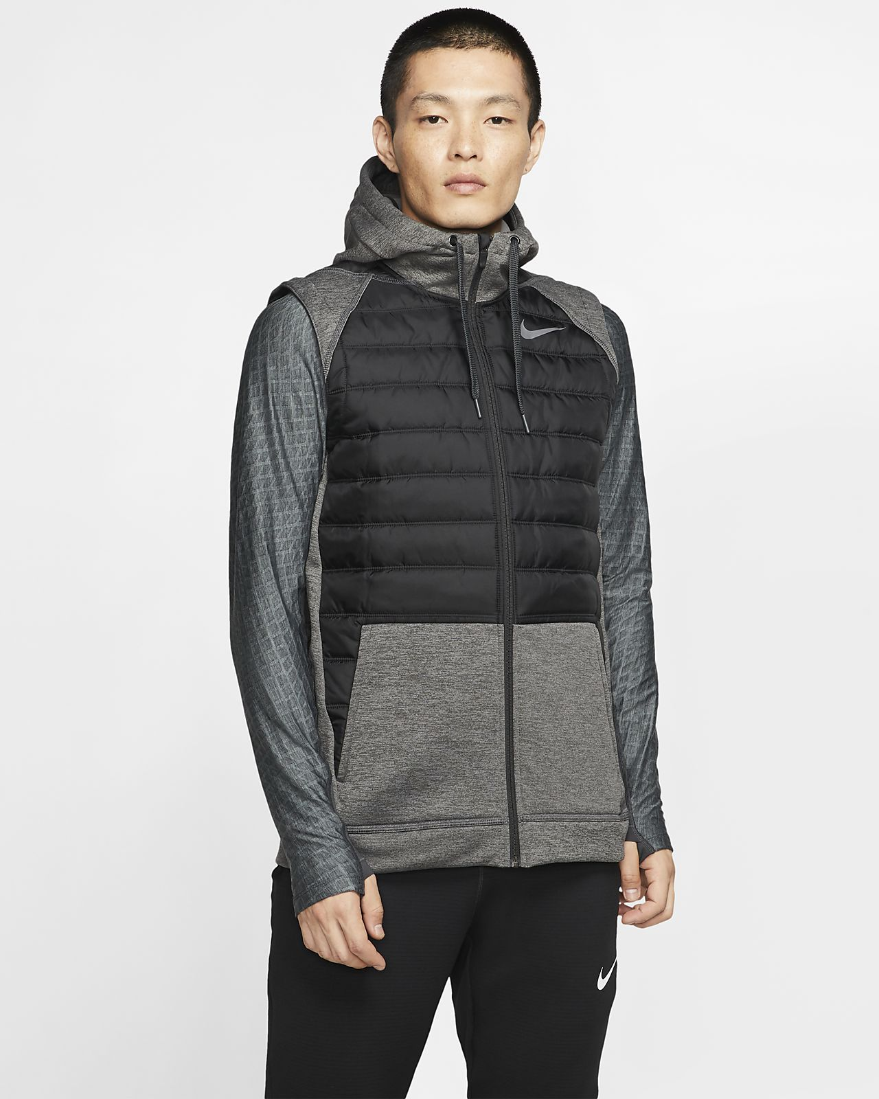Nike Therma Men's Winterized Full-Zip Training Gilet
