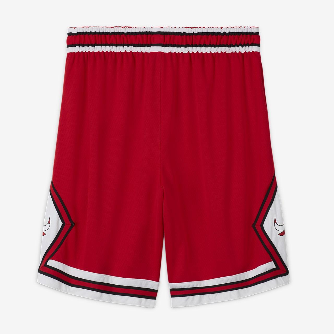 NIKE Basketball Shorts 'Chicago Bulls' Herren, Rot, Größe