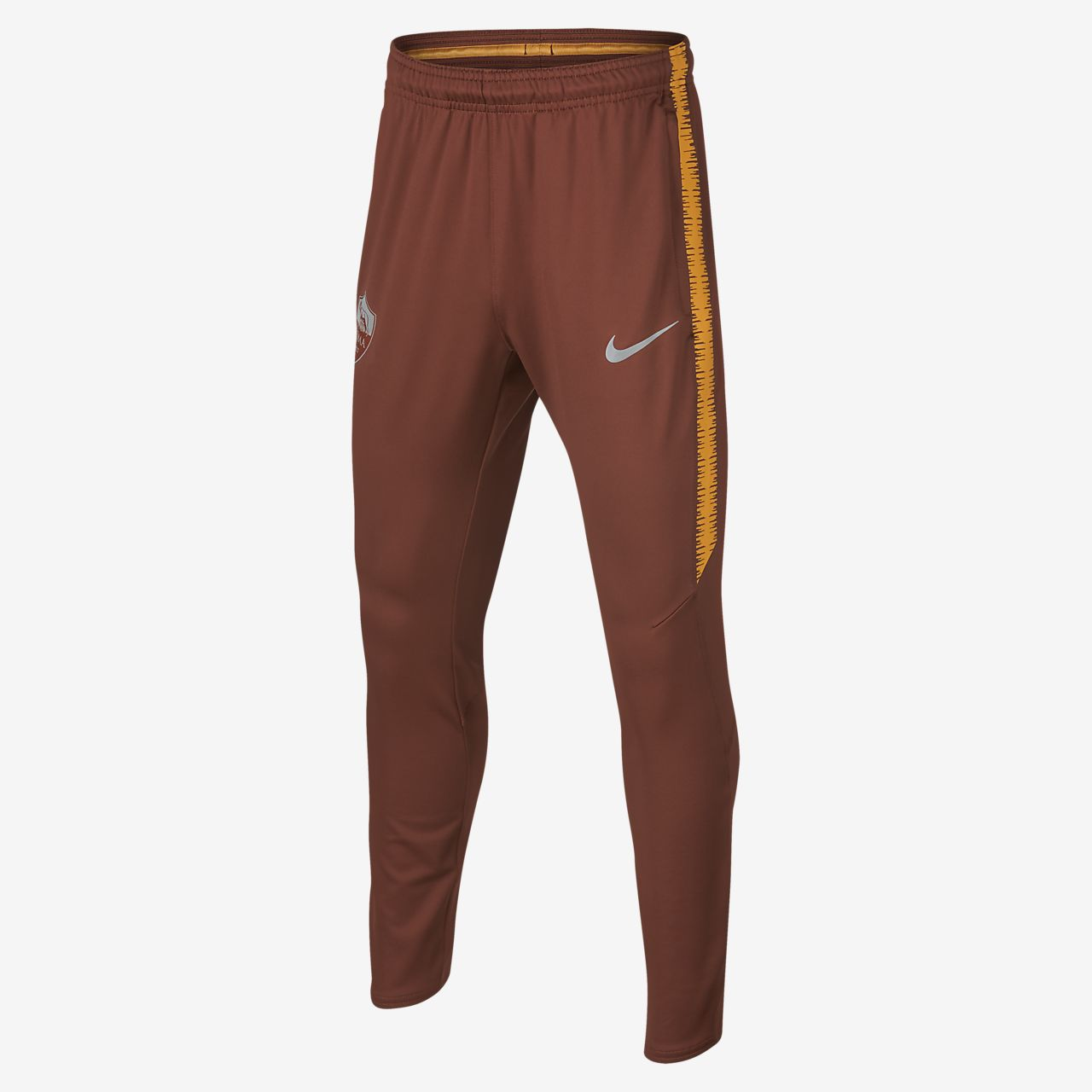 Pantalon de football A.S. Roma Dri-FIT Squad pour Enfant plus âgé