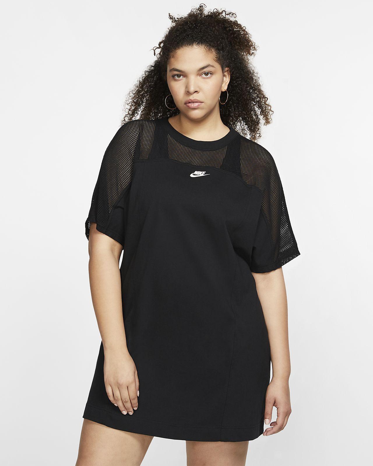 Klänning Nike Sportswear i mesh för kvinnor (stora storlekar)