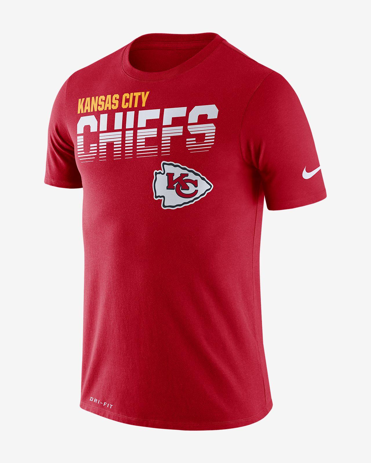 Tee-shirt à manches longues Nike Legend (NFL Chiefs) pour Homme