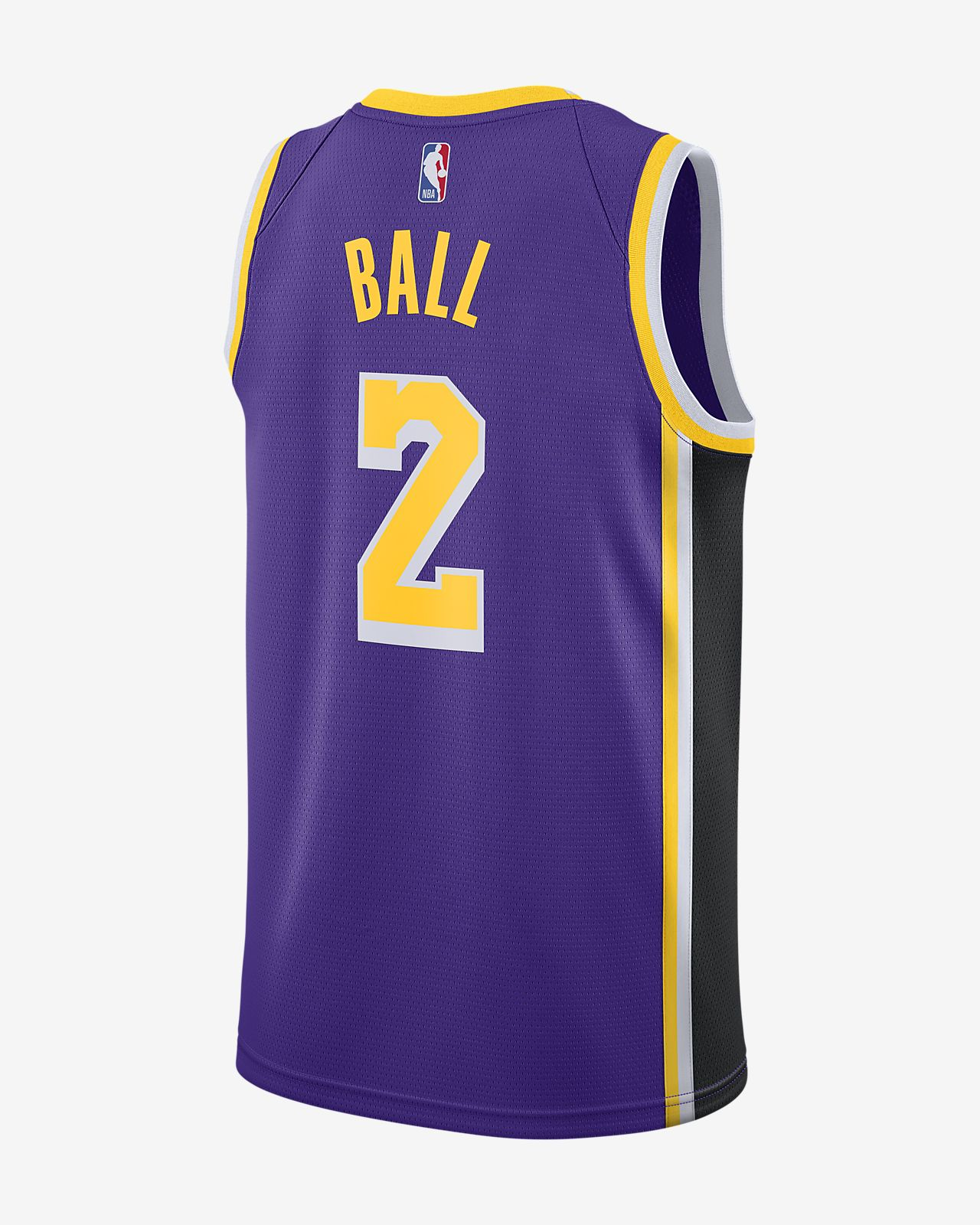 fac8734ab980 ... Lonzo Ball Statement Edition Swingman (Los Angeles Lakers) Men s Nike  NBA Connected Jersey