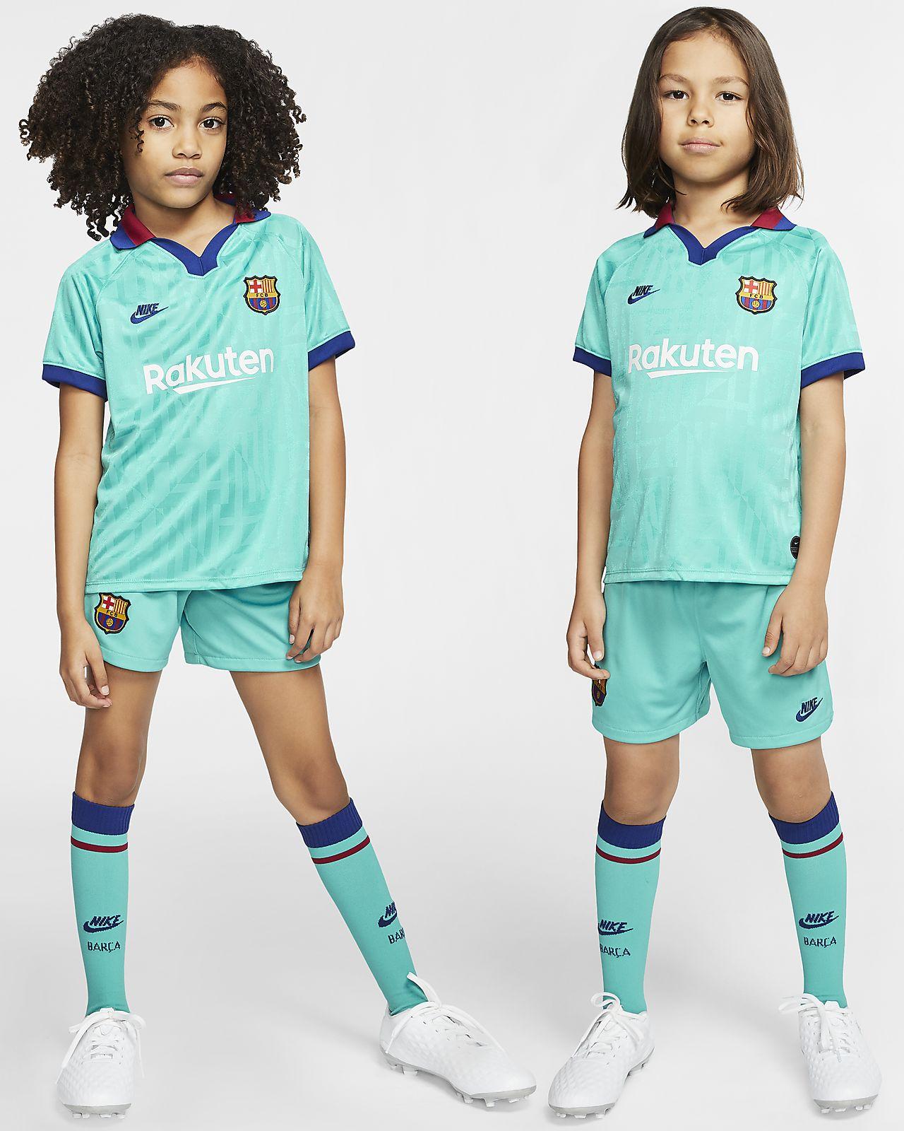 Tenue de football FC Barcelona 2019/20 Third pour Jeune enfant