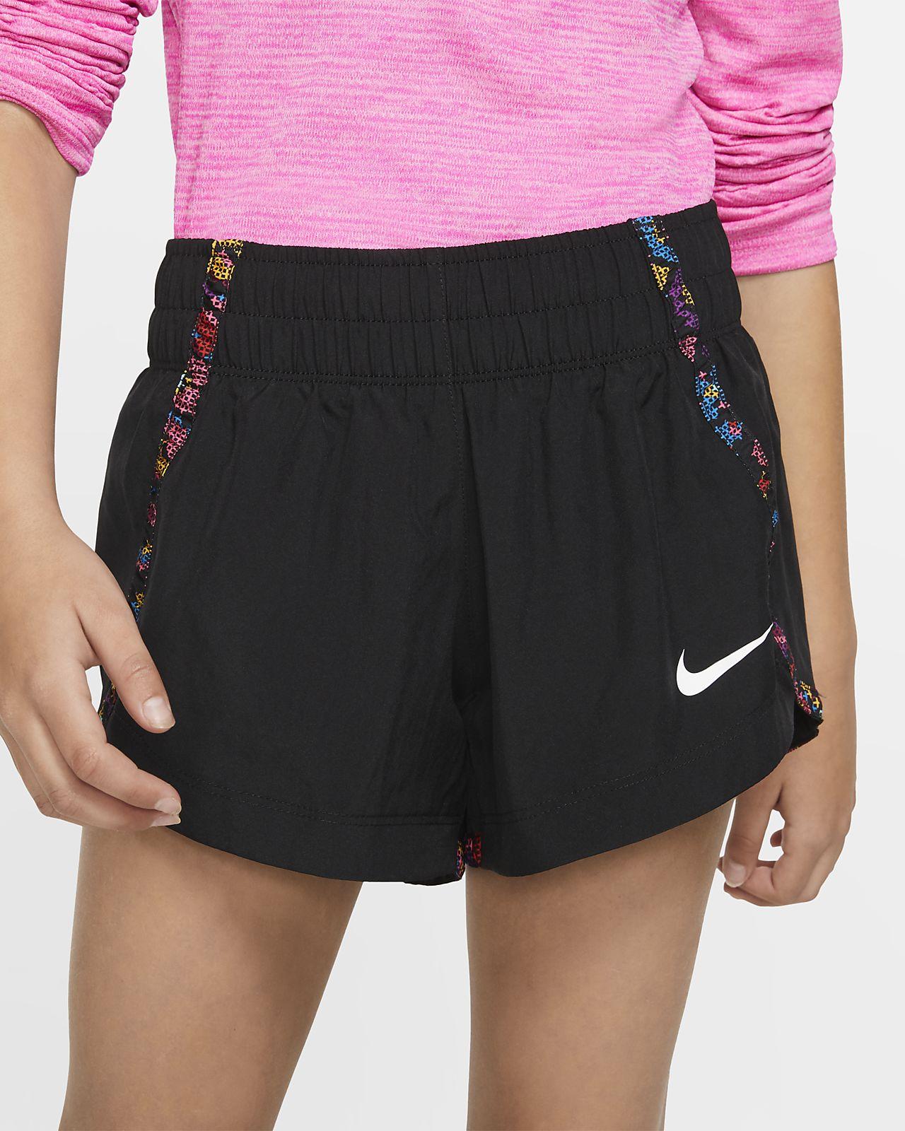 Nike Dri-FIT løpeshorts til store barn (jente)