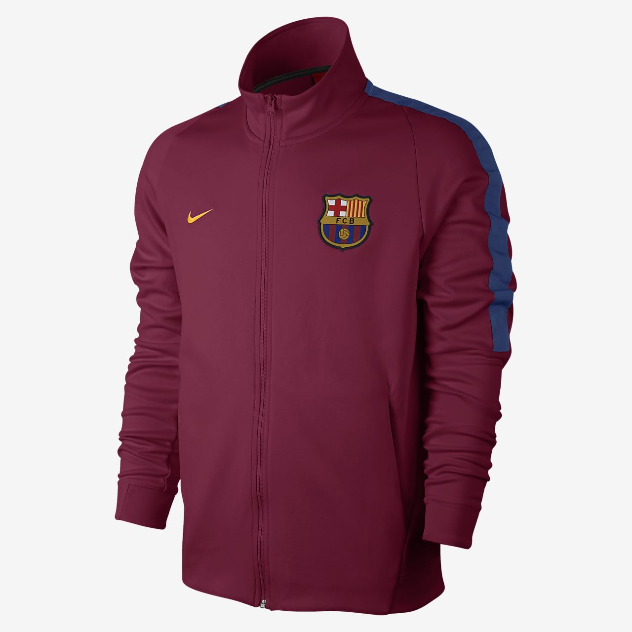 ... FC Barcelona Franchise Men's Football Jacket