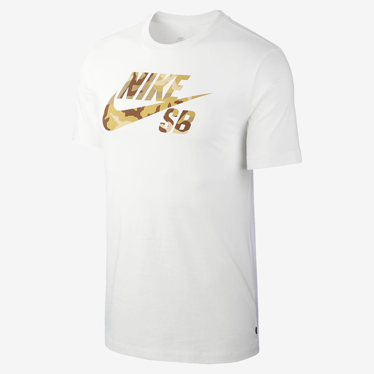 T-shirt de skateboard com logótipo Nike SB