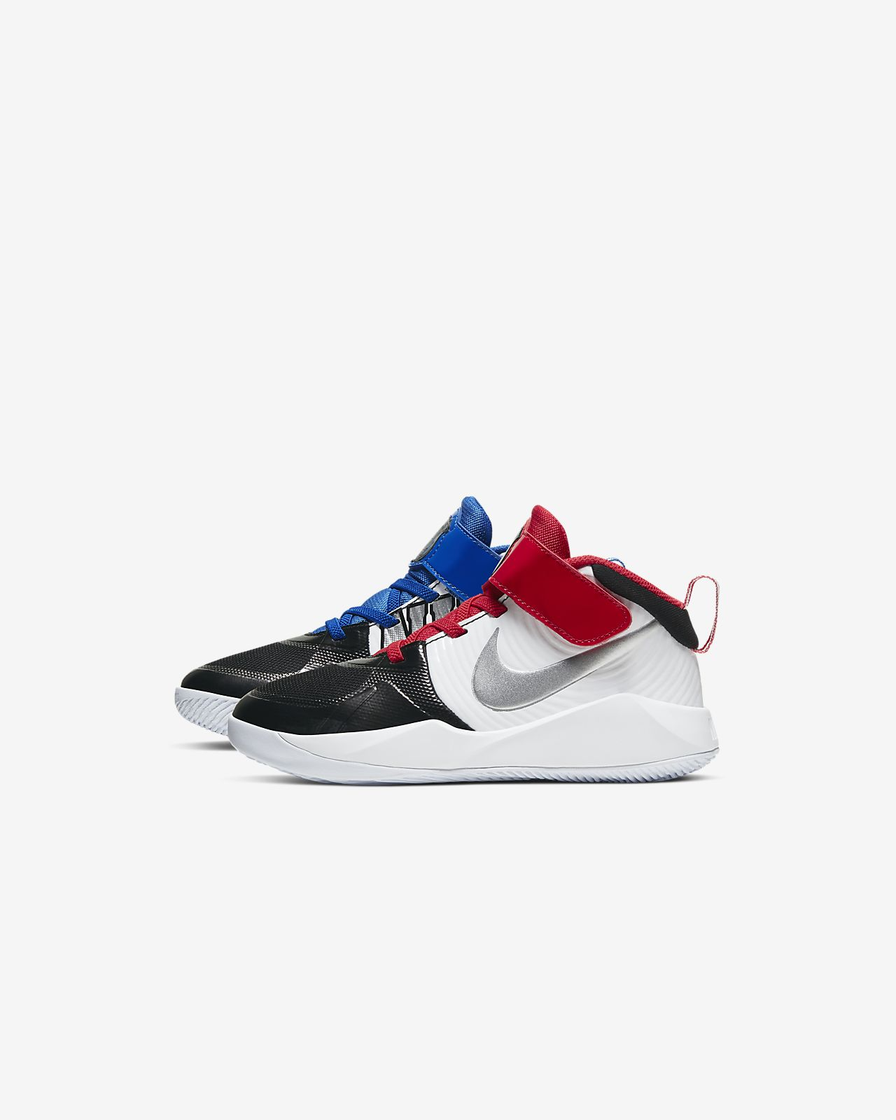 Nike Team Hustle D 9 Auto Little Kids' Shoe