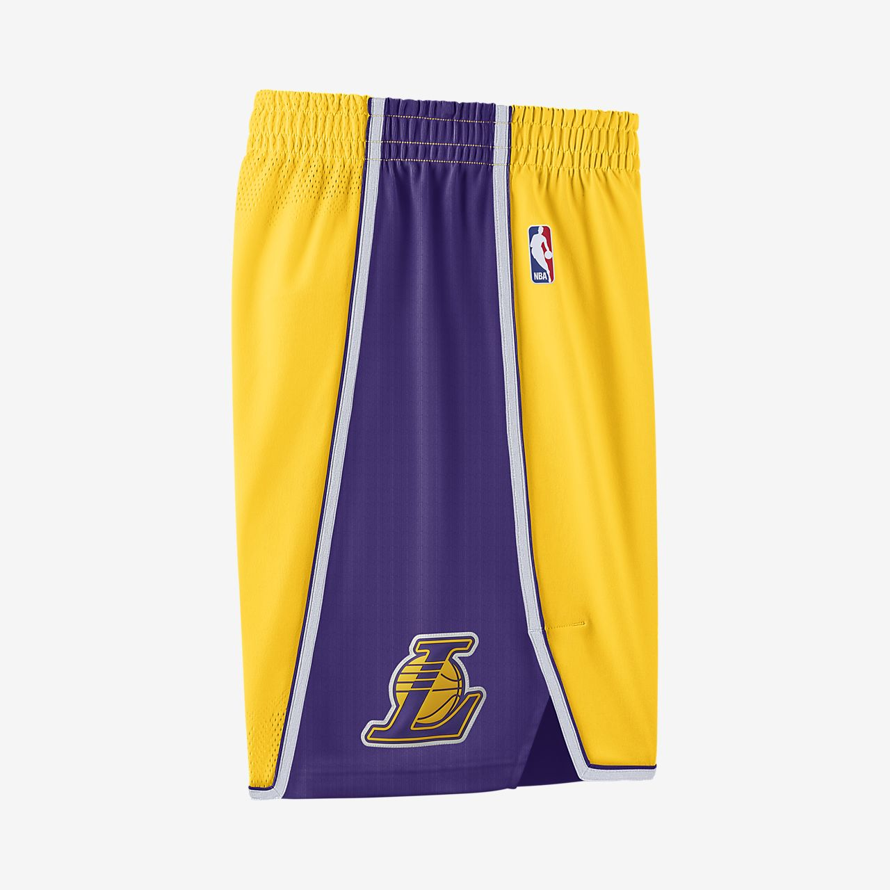 46b6d47000e9 Los Angeles Lakers Nike Icon Edition Authentic Men s NBA Shorts ...