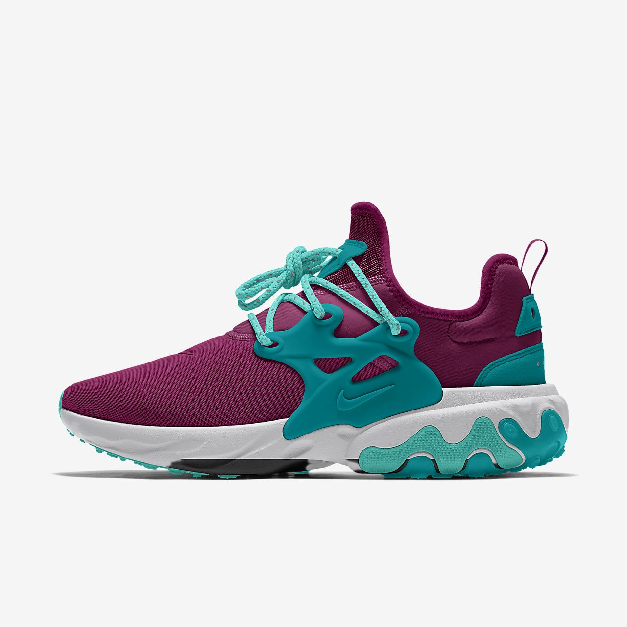 Calzado para mujer personalizado Nike React Presto By You