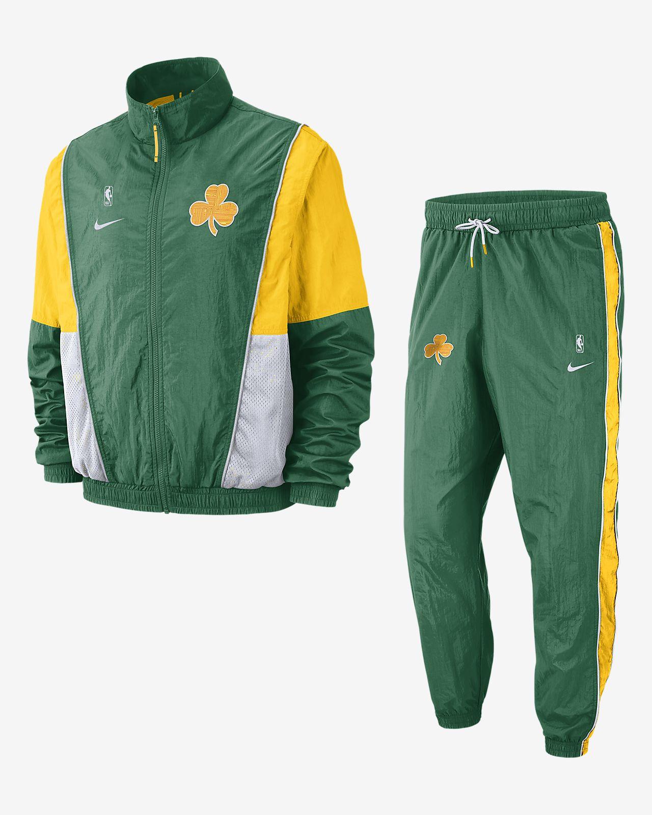 Conjunto de entrenamiento de la NBA para hombre Boston Celtics Nike