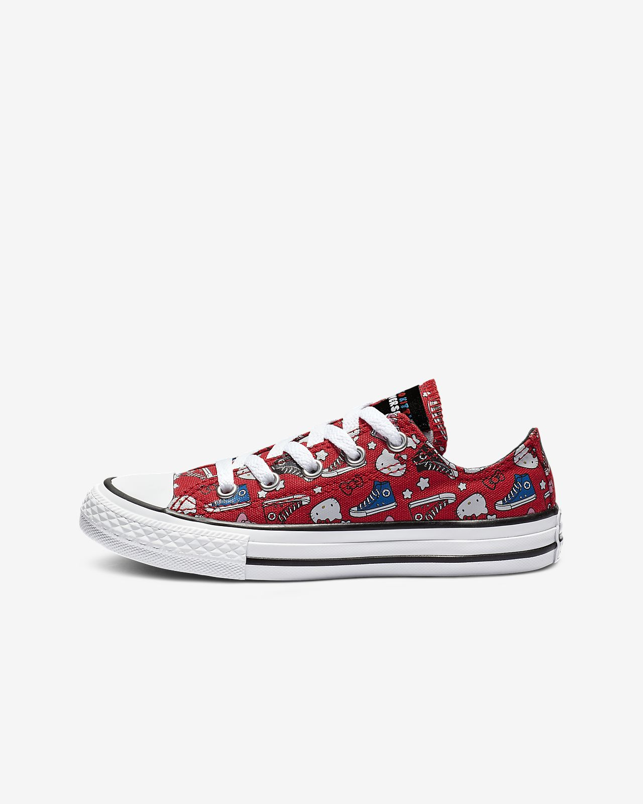 Converse x Hello Kitty Chuck Taylor All Star Low Top Big Kids' Shoe