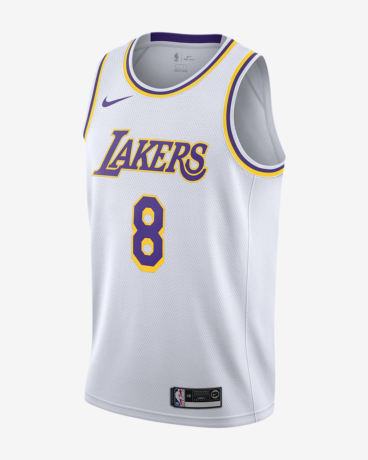 Kobe Bryant Association Edition Swingman (Los Angeles Lakers) Nike NBA Connected férfimez