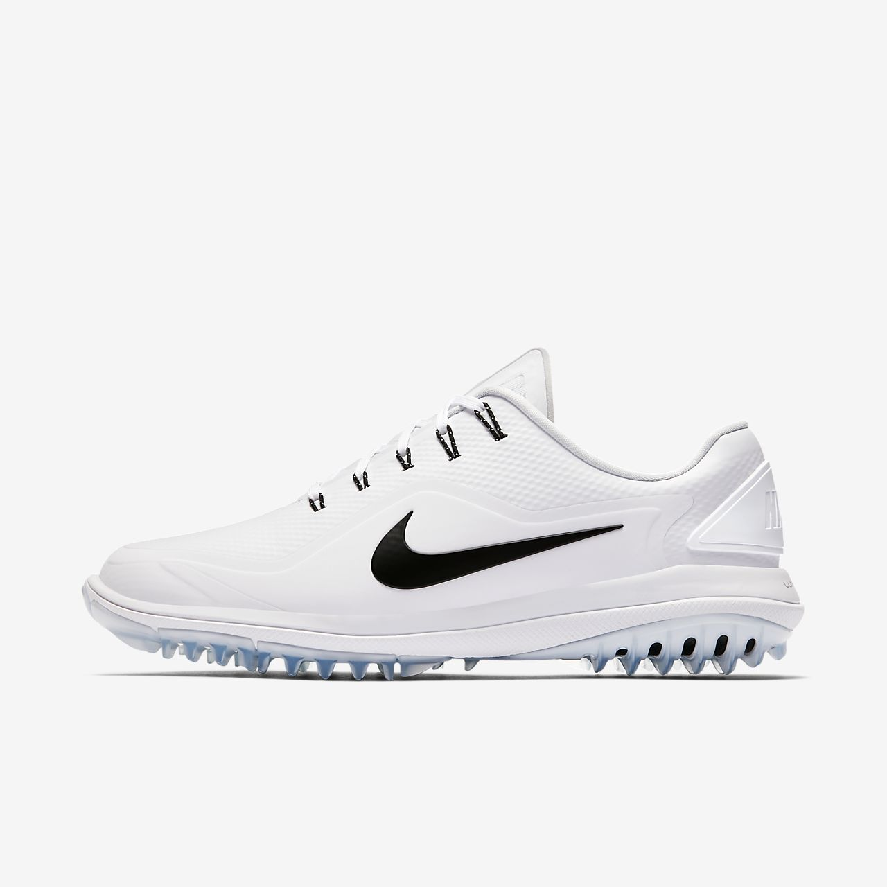 NIKE LUNAR CONTROL VAPOR 2 GOLF SHOES  MENS ATHLETIC SNEAKERS  BLACK / WHITE