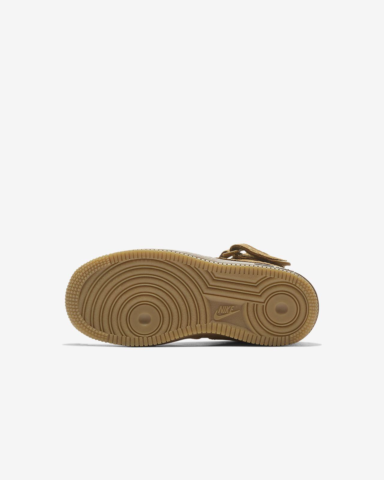 b478d74dd Calzado para niños talla pequeña Nike Air Force 1 Mid LV8. Nike.com MX