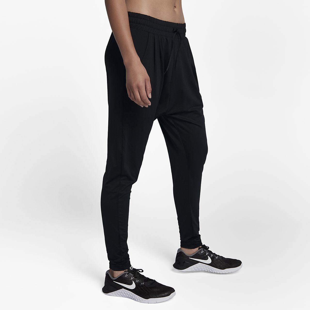 113e6ceceaf ... Nike Dri-FIT Lux Flow-træningsbukser med mellemhøj talje til kvinder