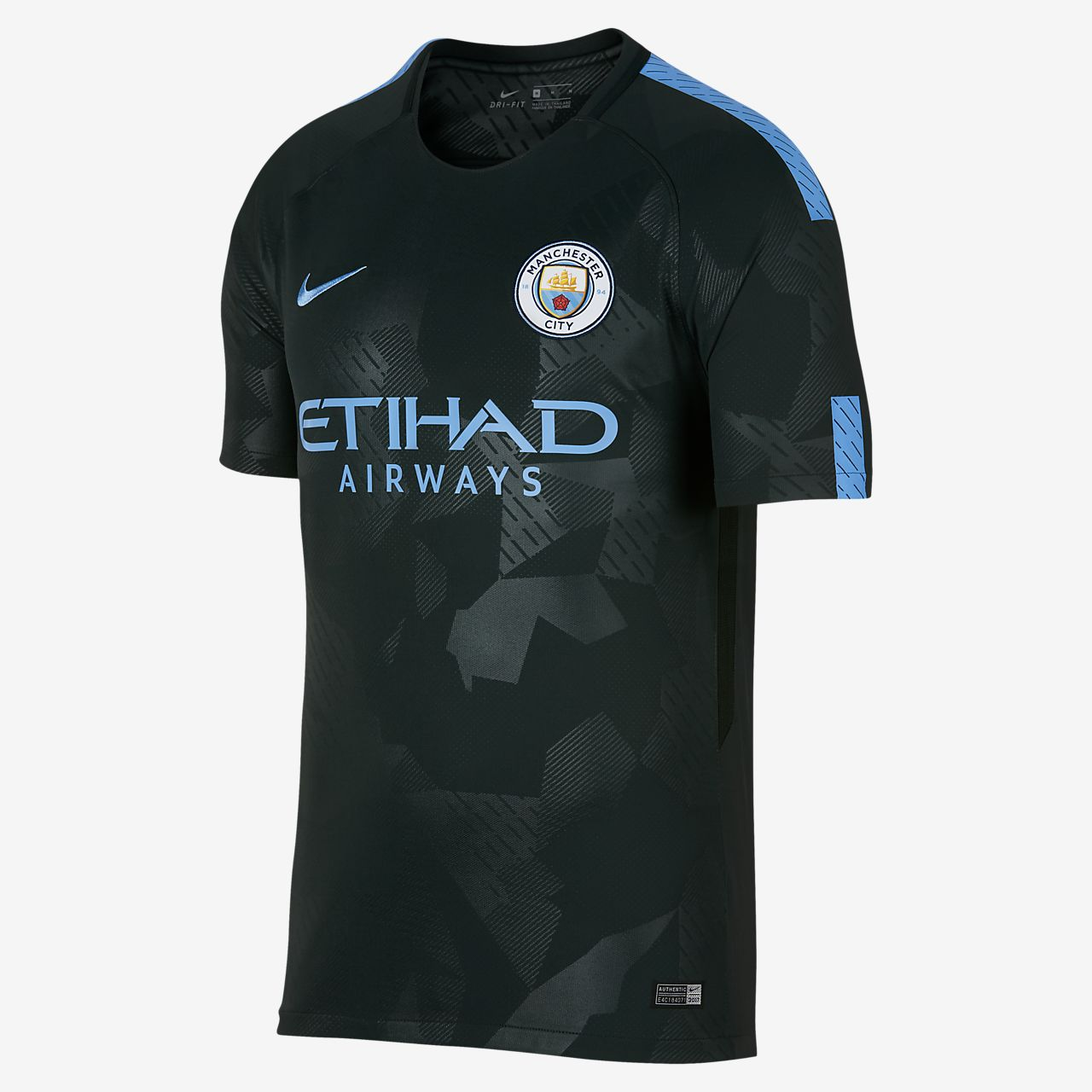 2017/18 Manchester City FC Stadium Third 男款足球球衣