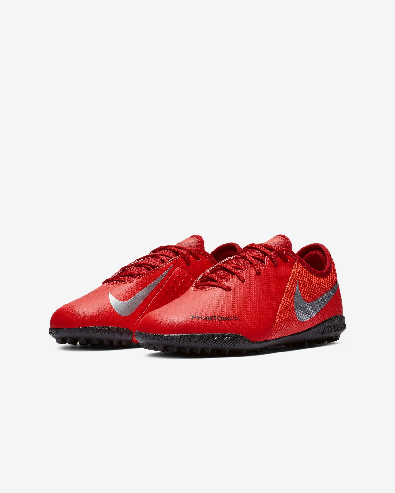 good 1e7fd 7a419 ... Nike Jr. PhantomVSN Academy Game Over TF Younger Older Kids  Turf Football  Shoe