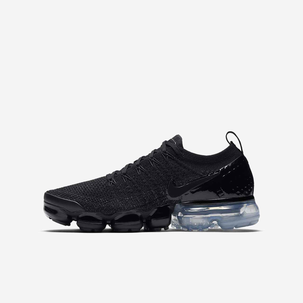 outlet store 1eb4f d186a sale nike air vapormax flyknit triple schwarz photo 1 8 ...