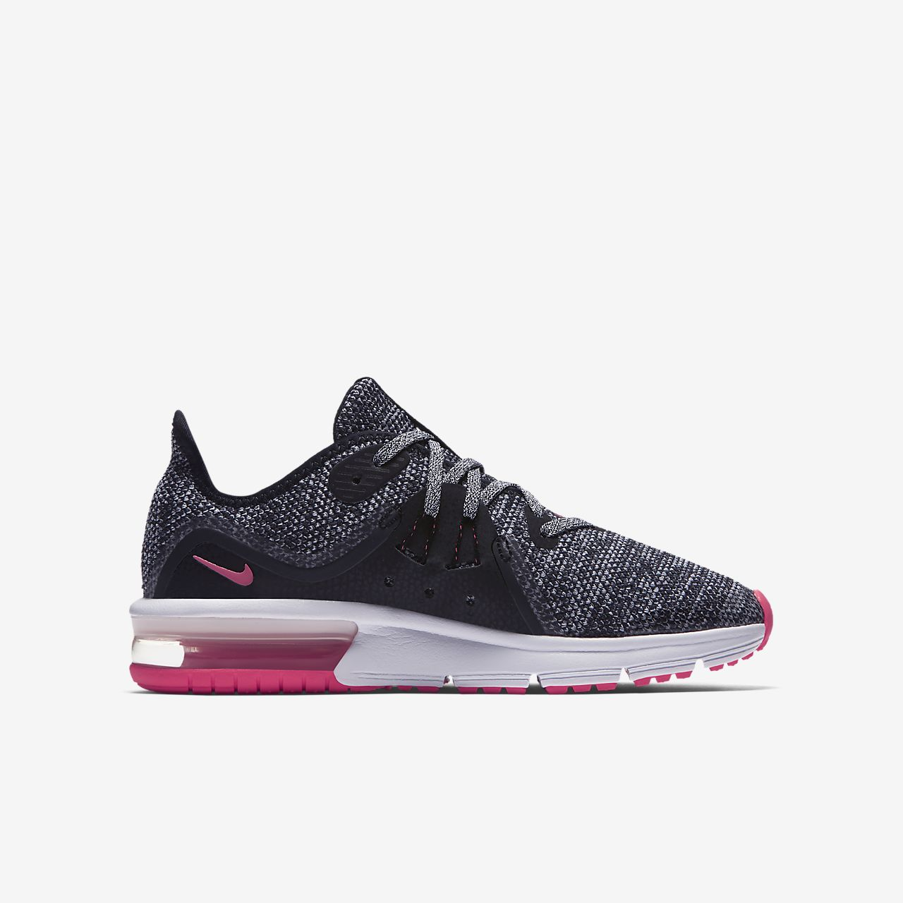 nike air max sequent 3 older kids 39 running shoe ca. Black Bedroom Furniture Sets. Home Design Ideas