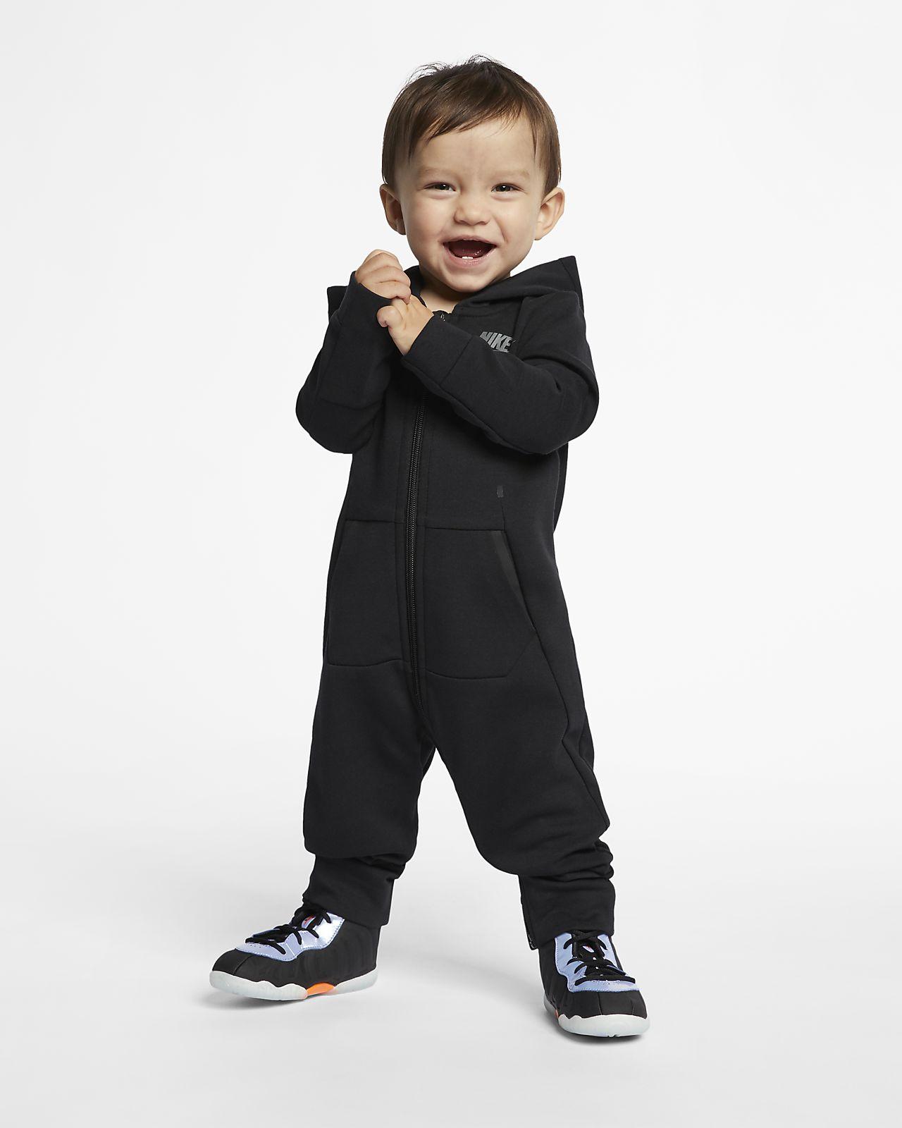 Nike Sportswear Tech Fleece Baby (12-24M) Hooded Coverall