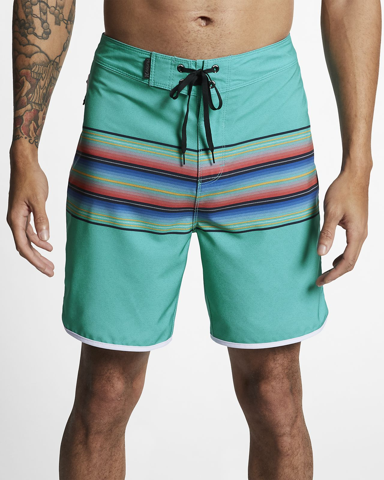 "Hurley Phantom Baja Malibu Men's 18"" Board Shorts"