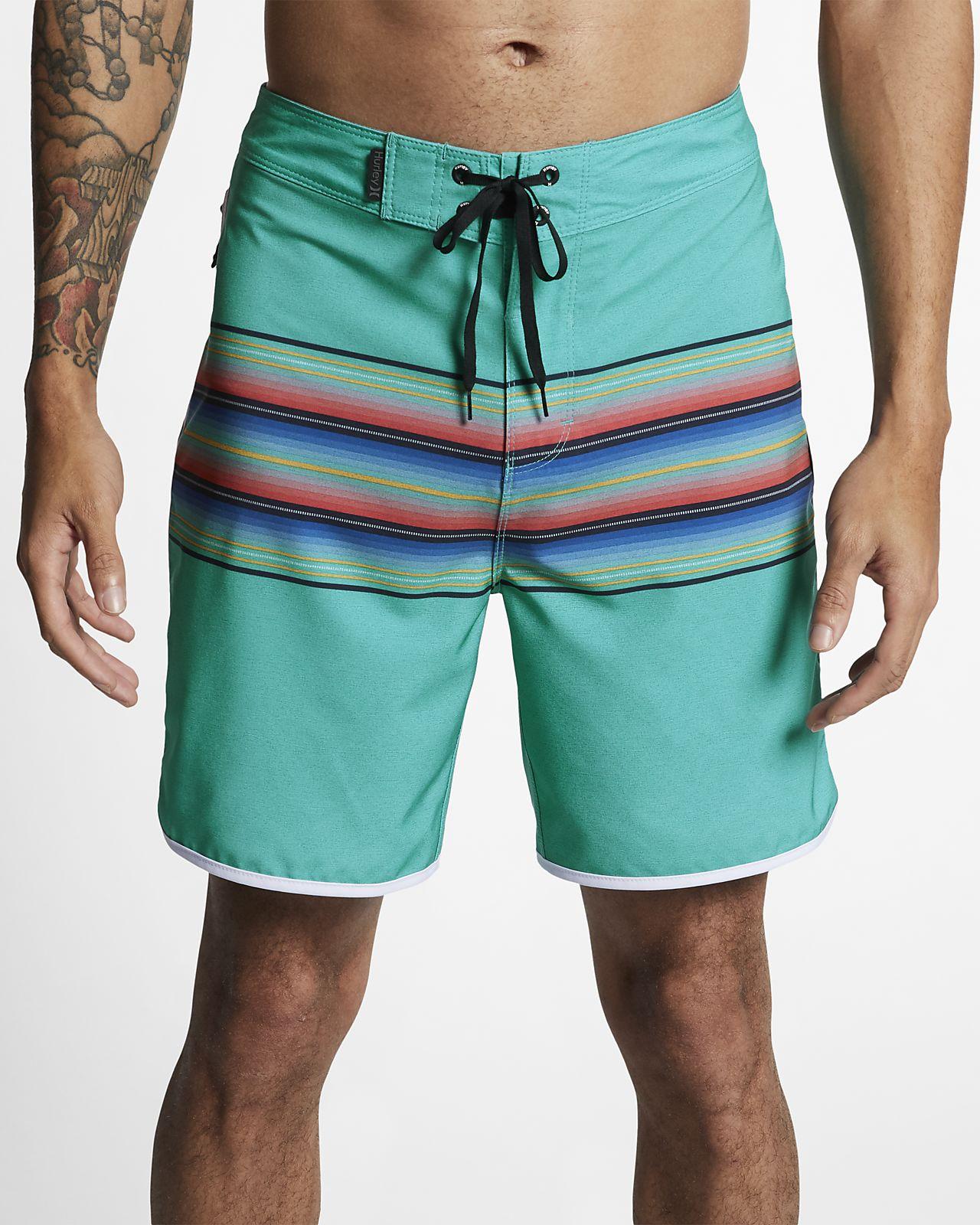Shorts de playa de 45 cm para hombre Hurley Phantom Baja Malibu