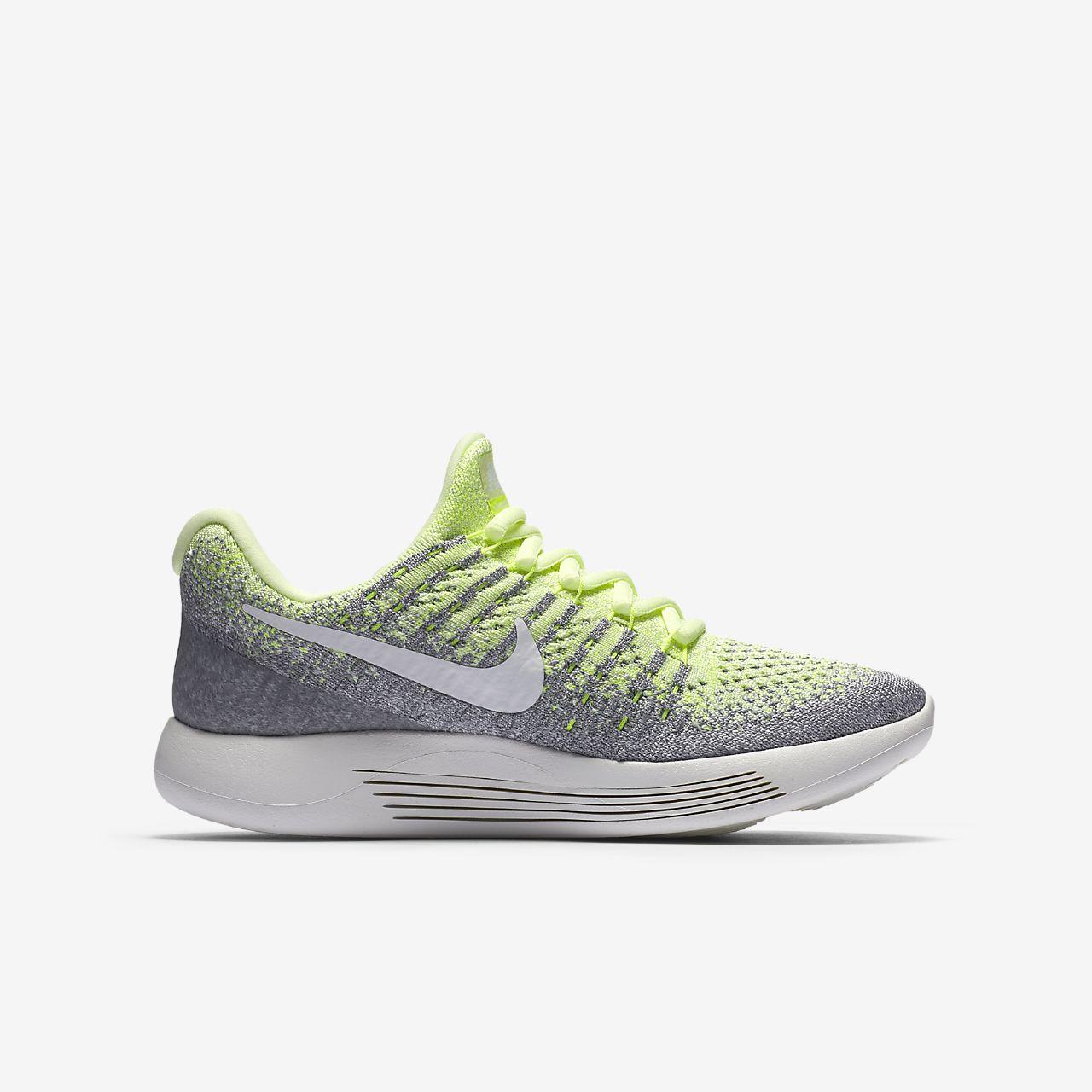 Nike Chaussures De Course Épique Lunar Bas Flyknit 2 - Enfants Noir / Blanc / Gris ntvy4u69o