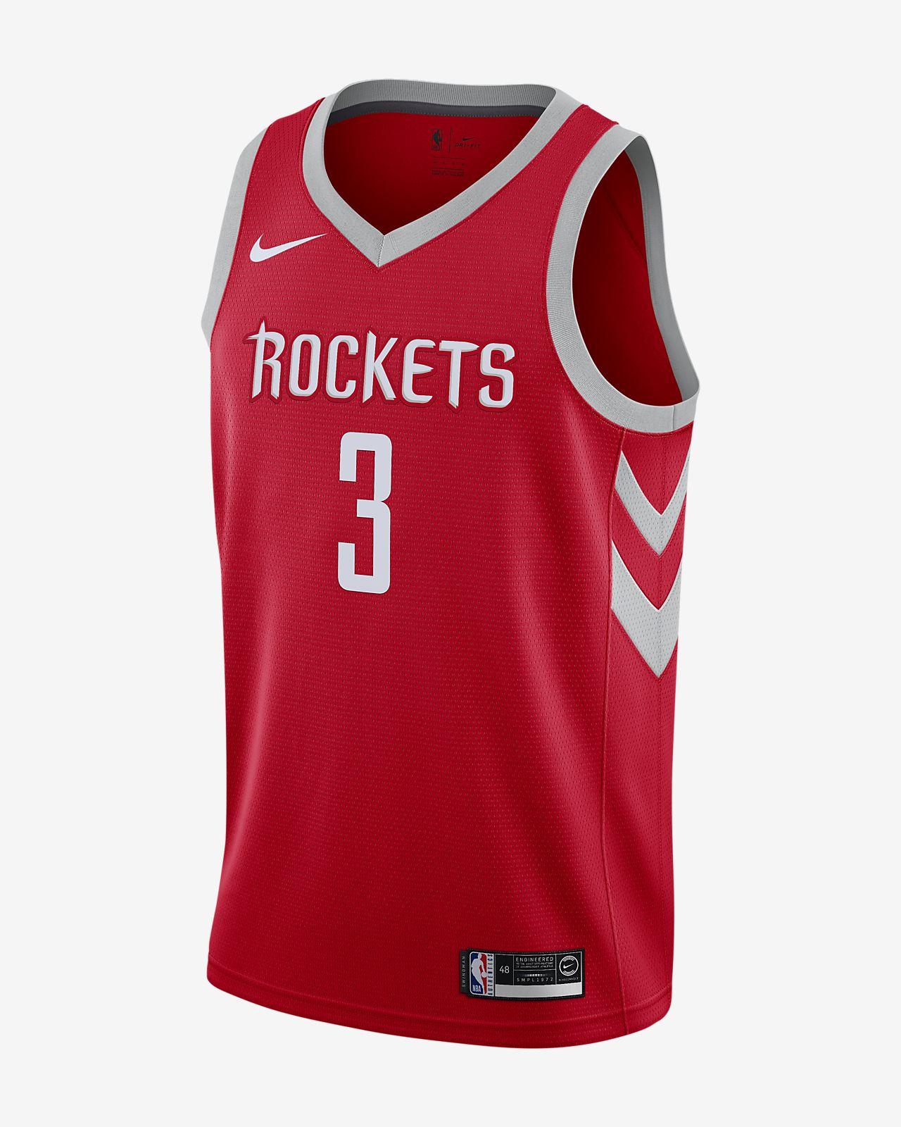 休斯顿火箭队 (Chris Paul) Icon Edition Swingman Jersey 男子 Nike NBA Connected 球衣