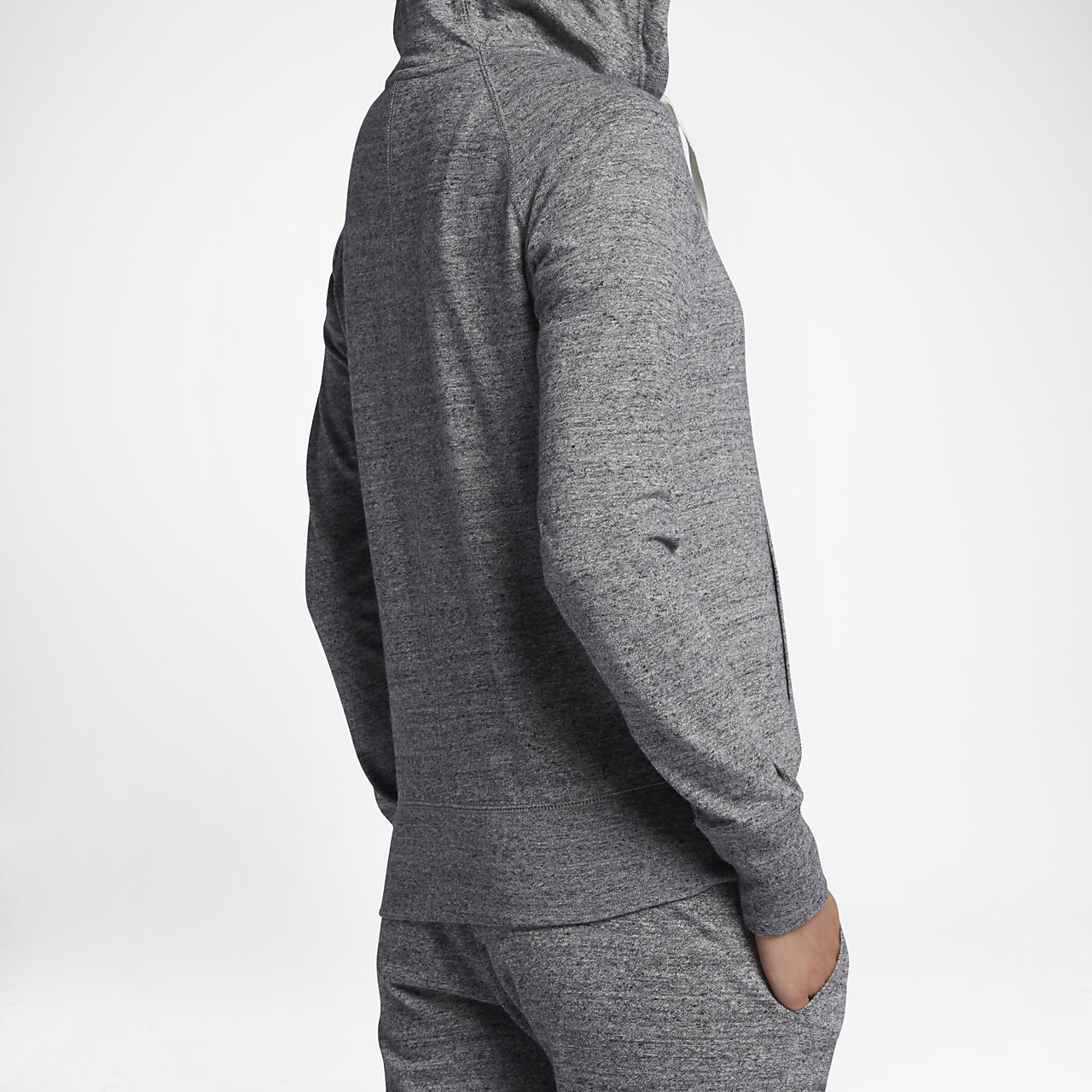 England Cricket Mens Full Zip Hoodie Grey Sports Training Activewear