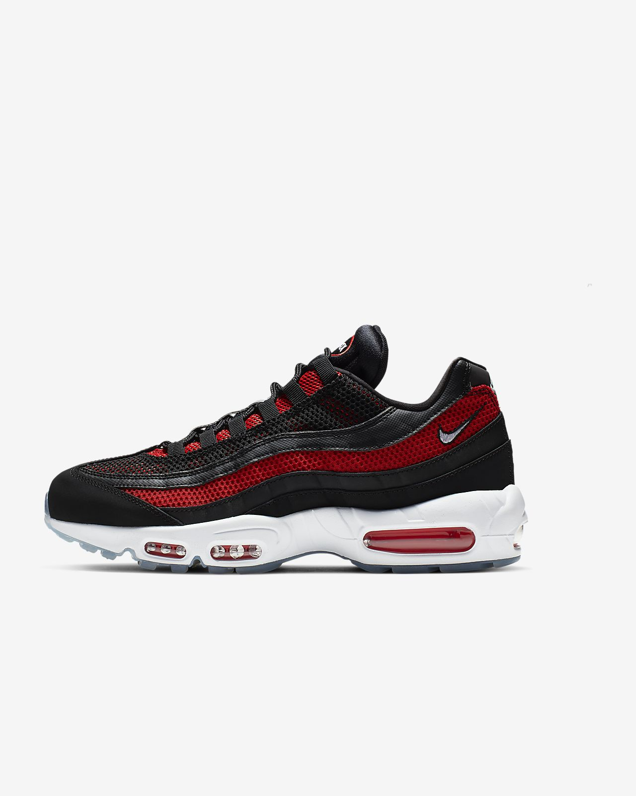 Nike Men's Air Max 95 Essential (Black | Sequoia | White)