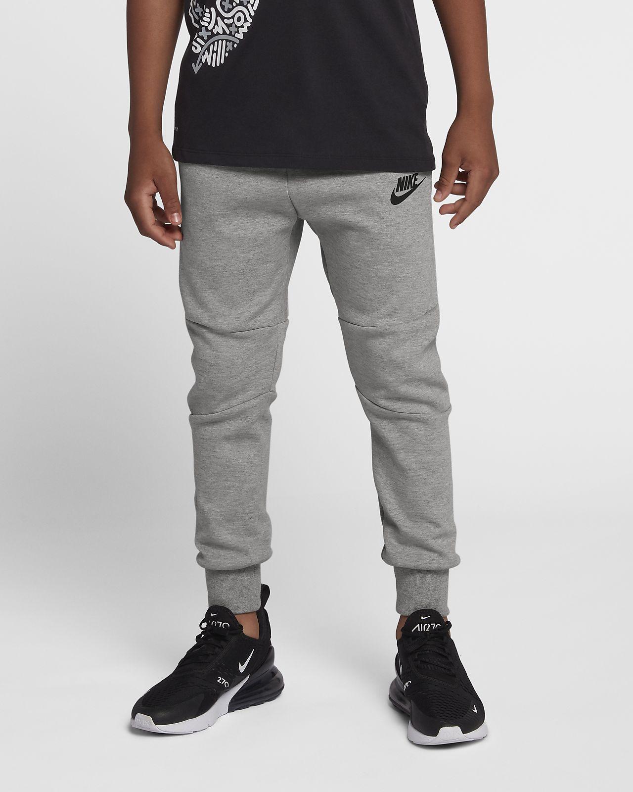 hot sale online 9dd8a d35ac ... Pantalon en tissu Tech Fleece Nike Sportswear pour Enfant plus âgé