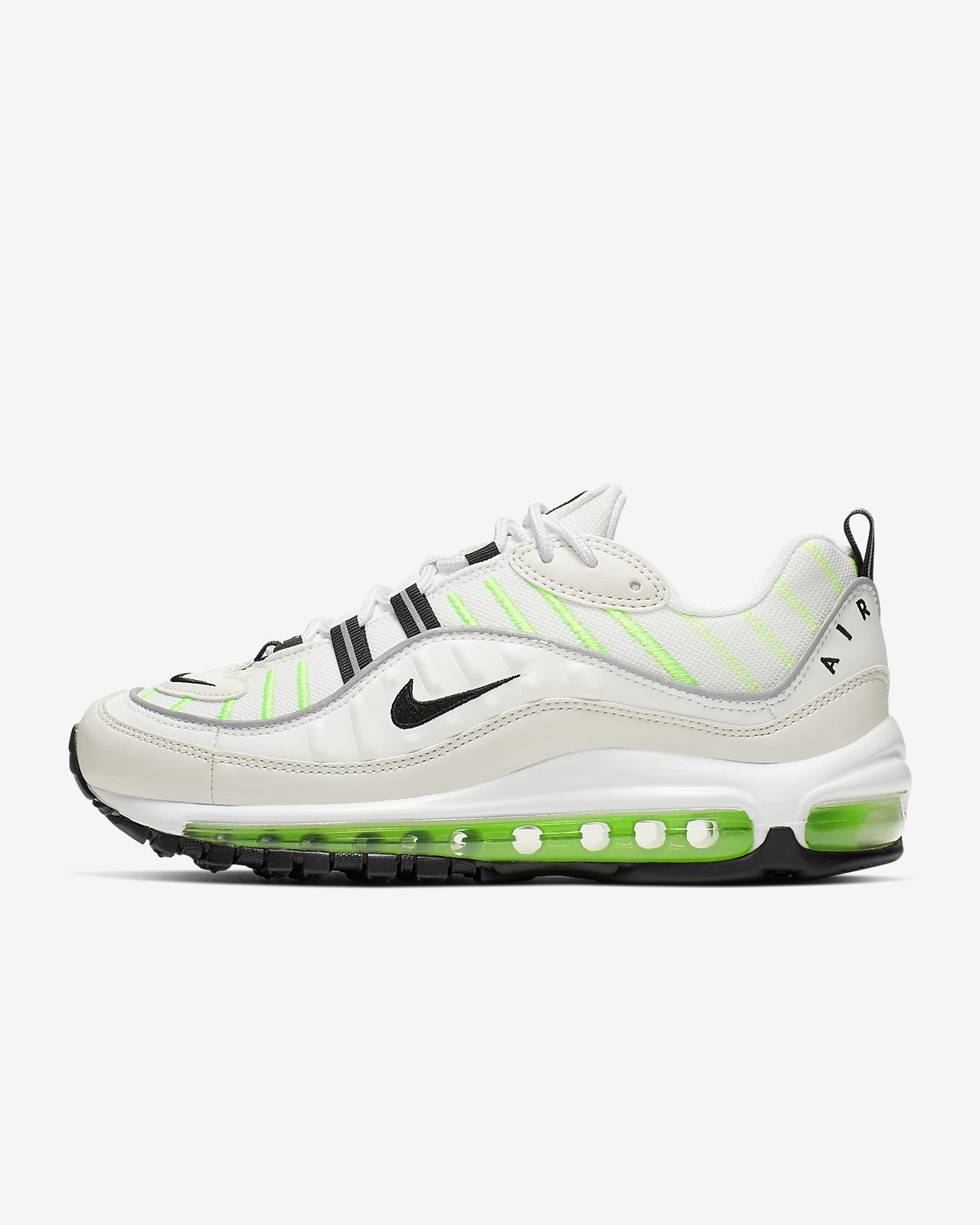 Nike Air max 98 phantom electric green blanc vert AH6799 115
