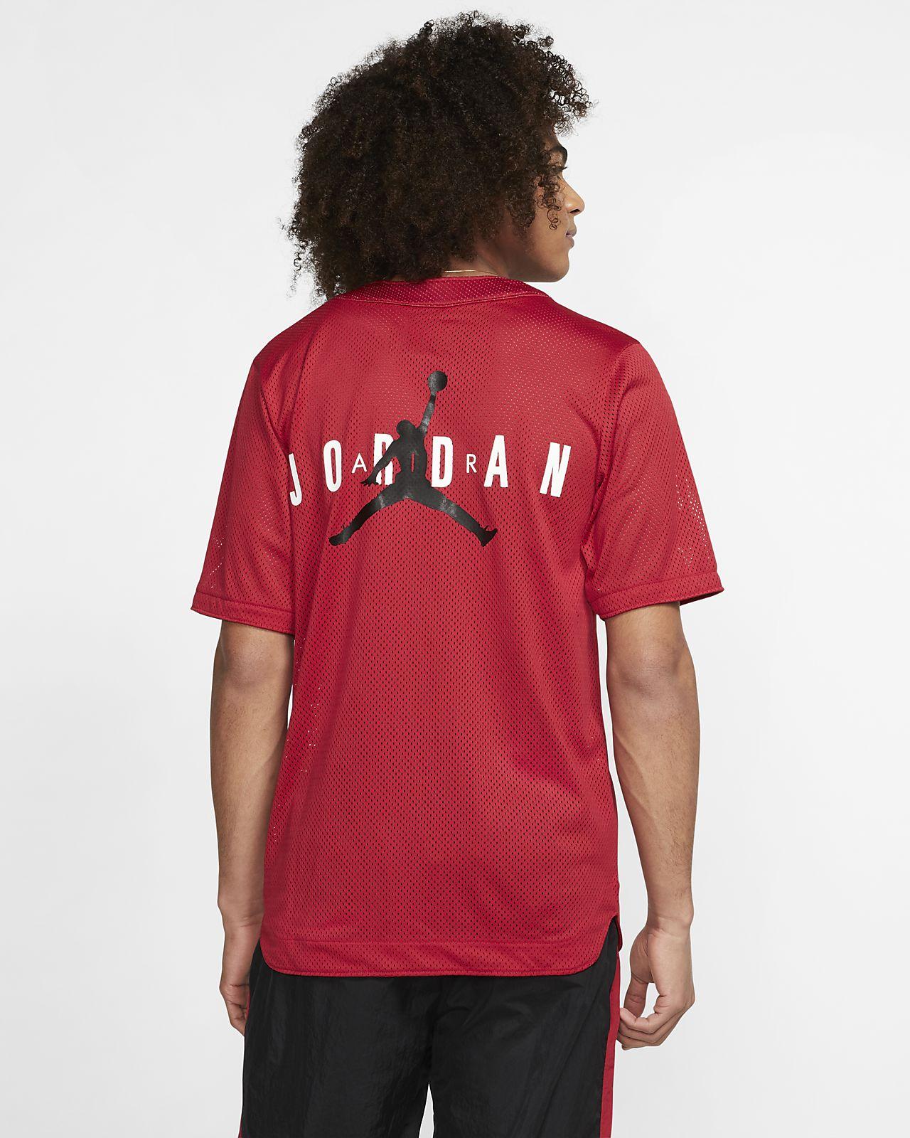 f132779b12b6ef Jordan Jumpman Air Men s Mesh Top. Nike.com LU
